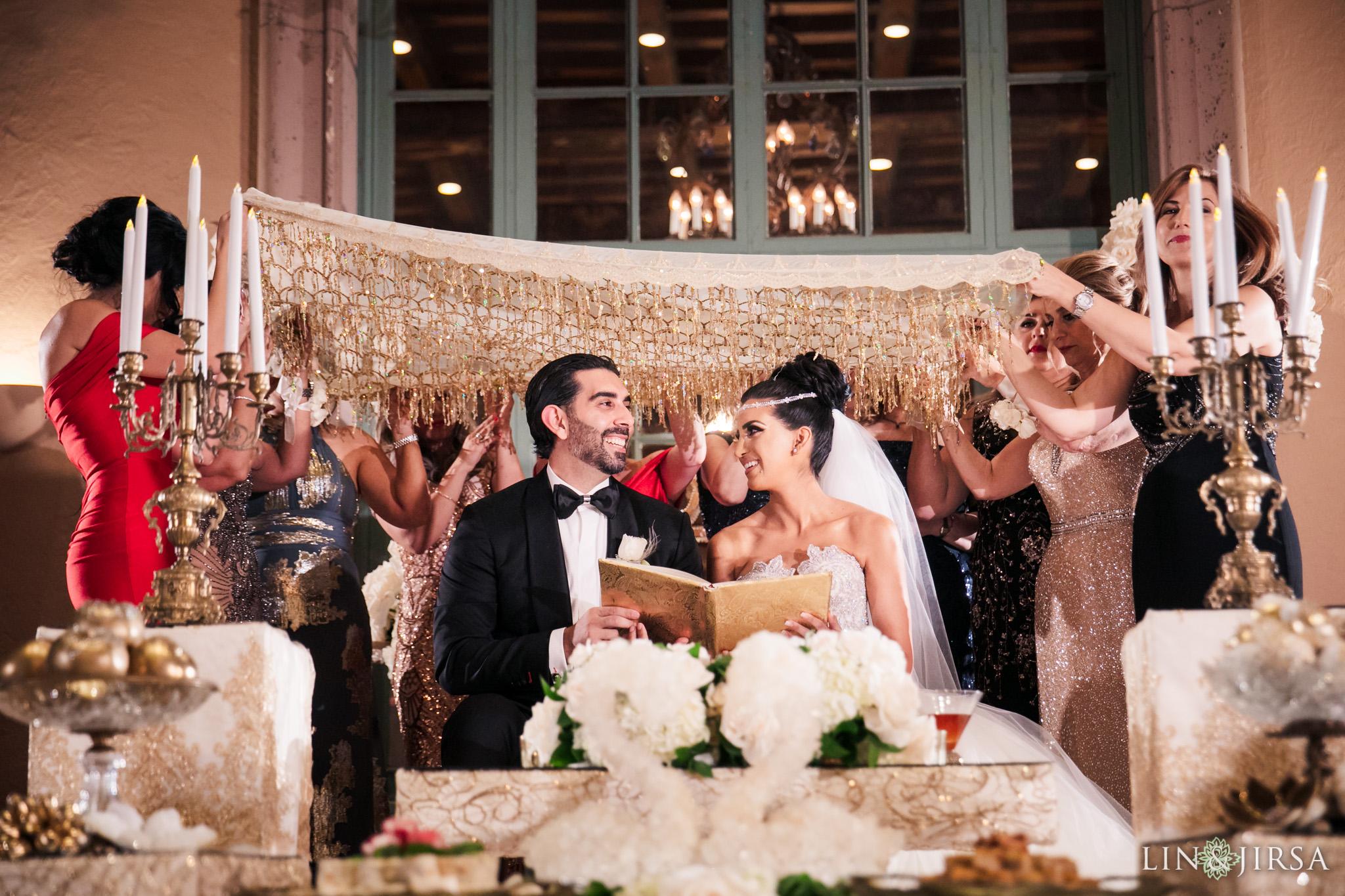 20 Biltmore Hotel Los Angeles Persian Wedding Sofreh Photography
