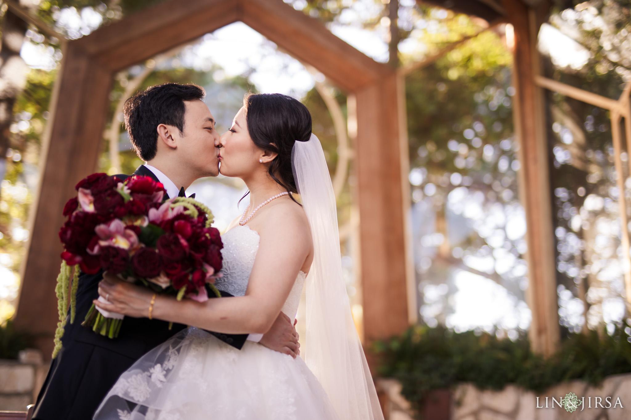 20 Wayfarers Chapel Wedding Ceremony Photography