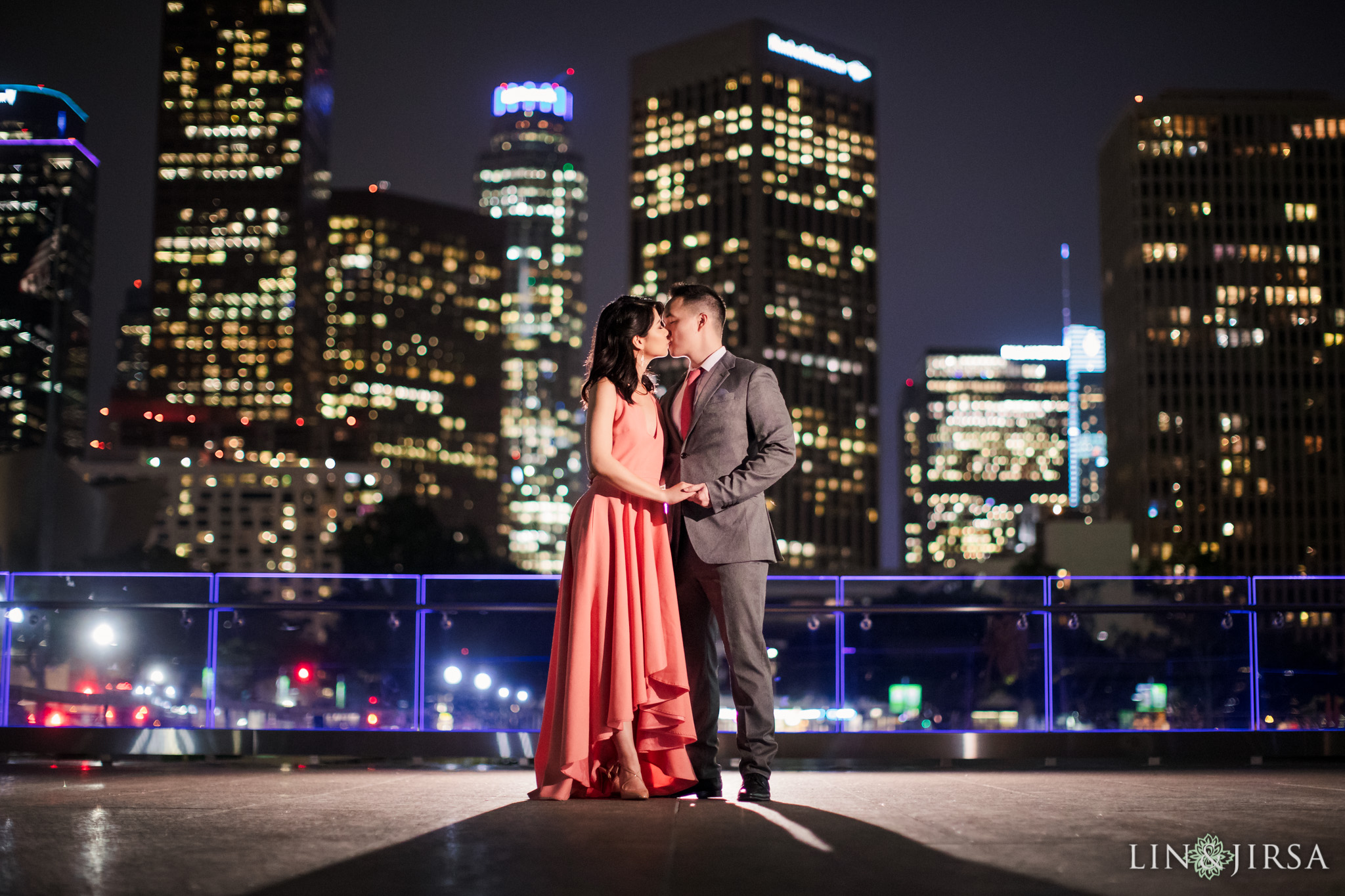 20 downtown los angeles engagement photography