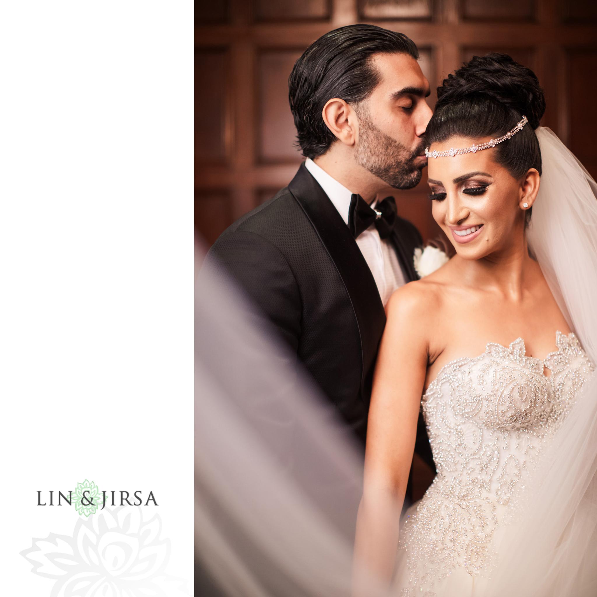 21 Biltmore Hotel Los Angeles Persian Wedding Photography