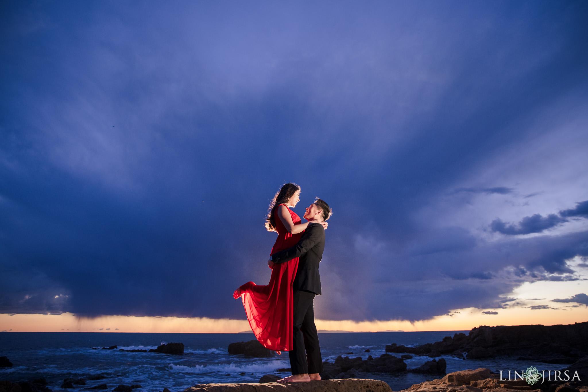 21 Heisler Park Laguna Beach Orange County Engagement Photography
