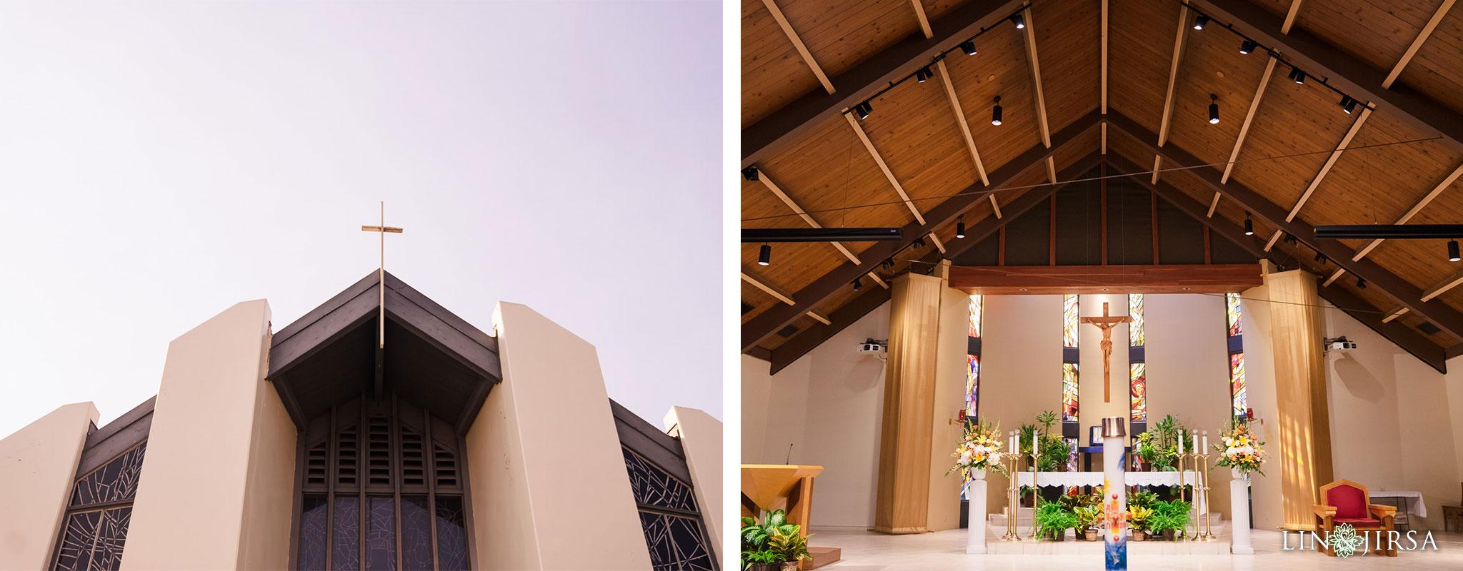 21 St Irenaeus Catholic Church Cypress Wedding Photography