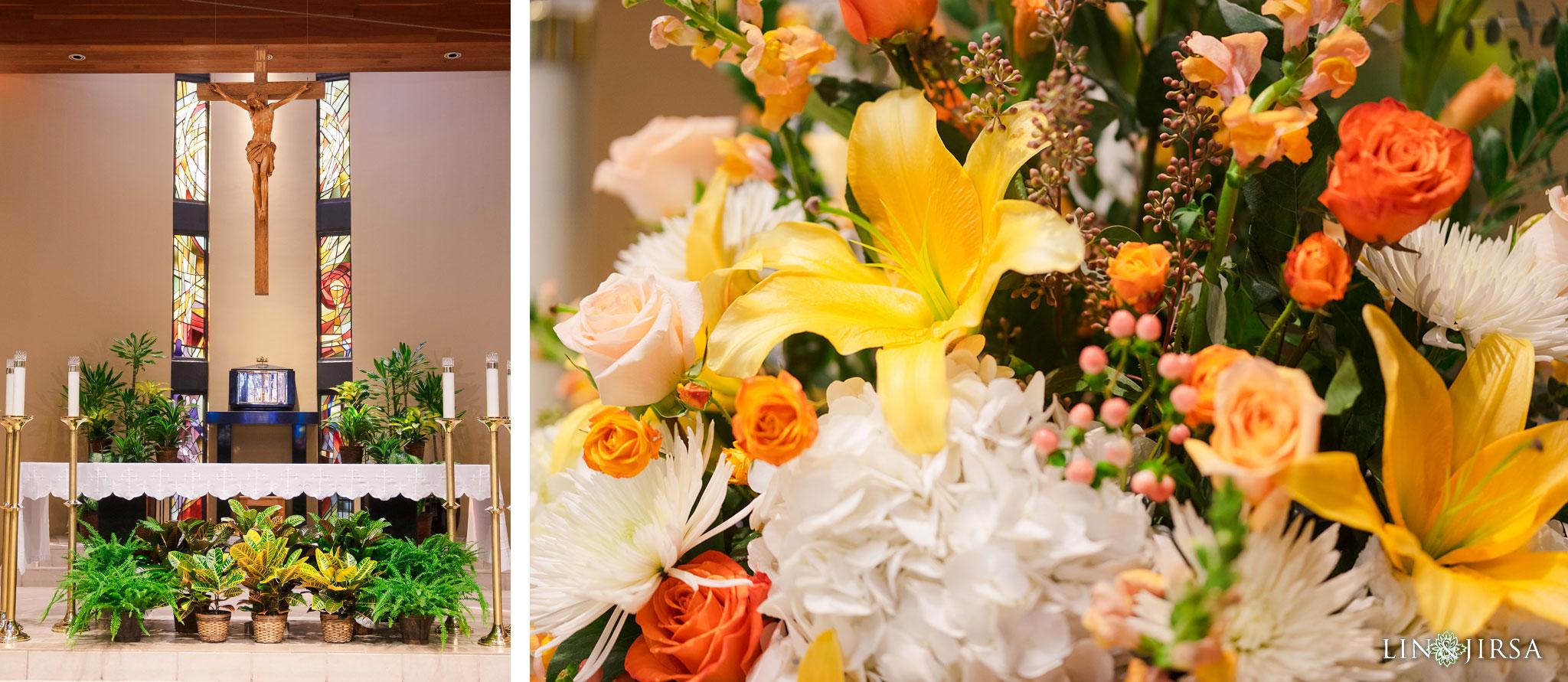 22 St Irenaeus Catholic Church Cypress Wedding Photography