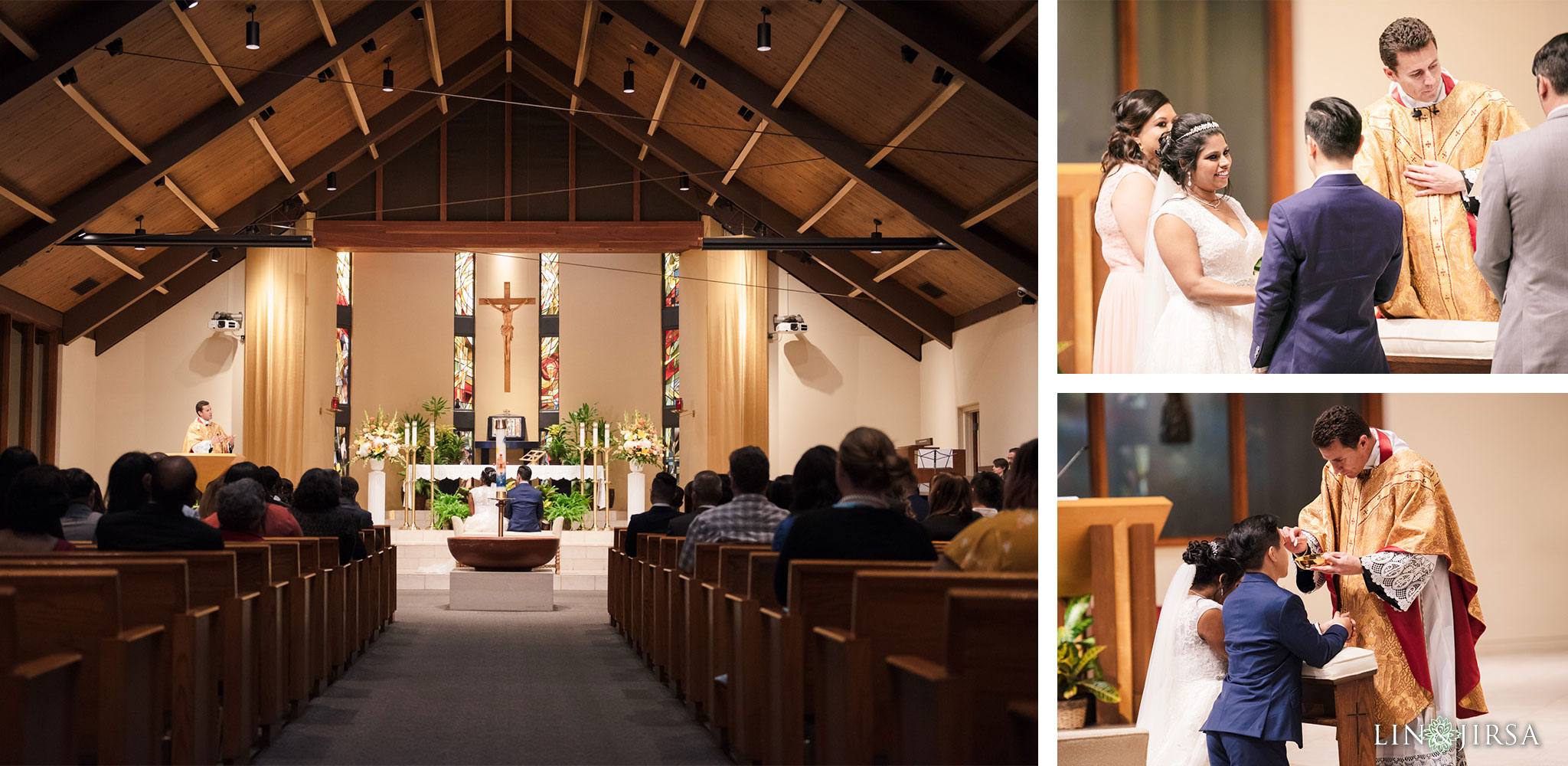 24 St Irenaeus Catholic Church Cypress Wedding Photography
