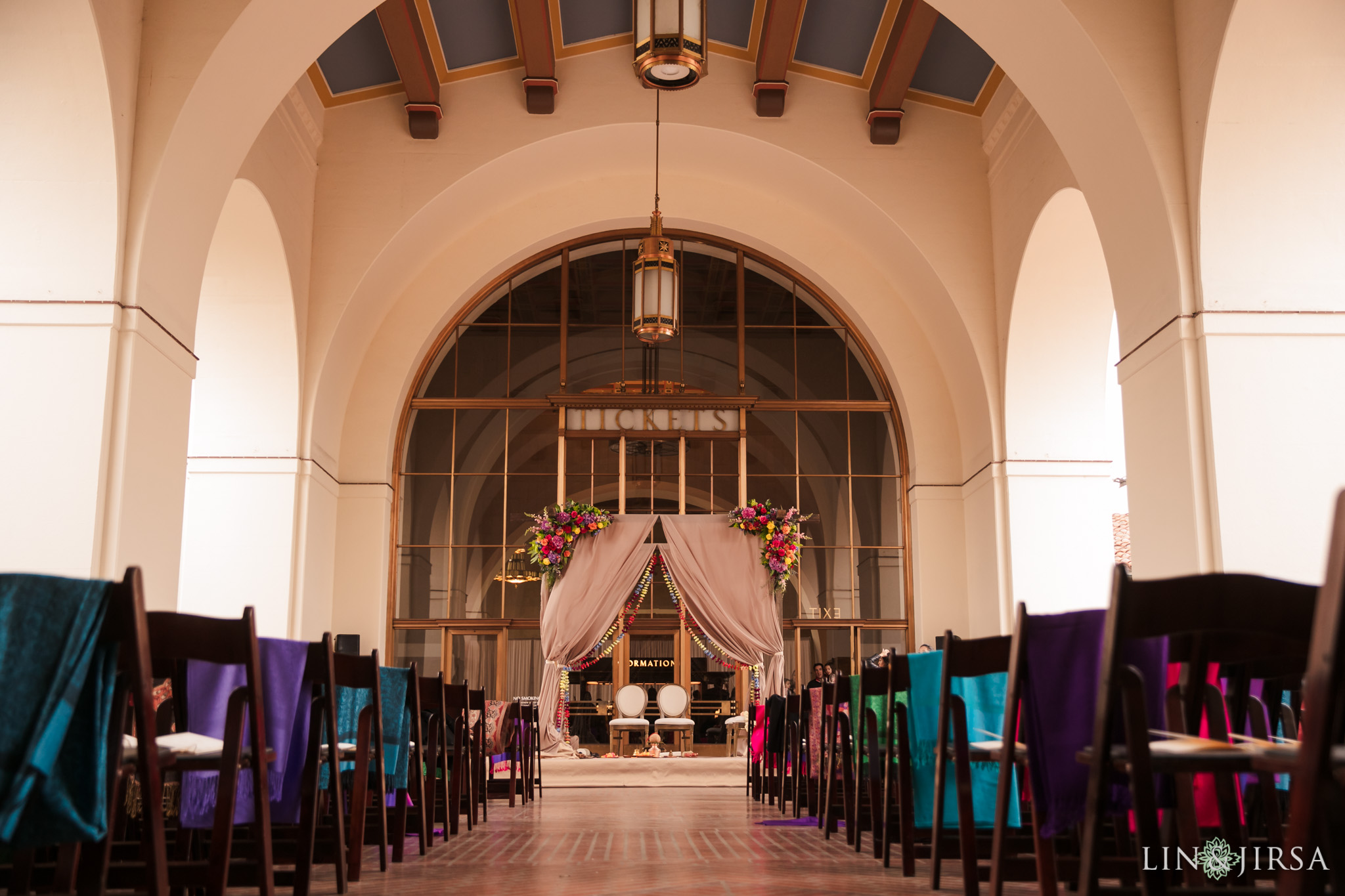 26 Union Station Los Angeles Indian Wedding Photography