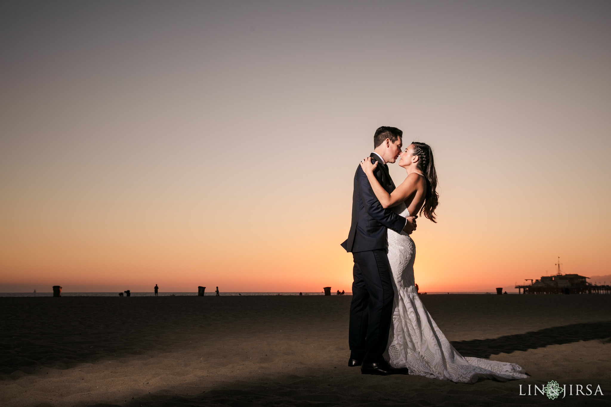 27 Shutters on the Beach Santa Monica Sunset Wedding Photography