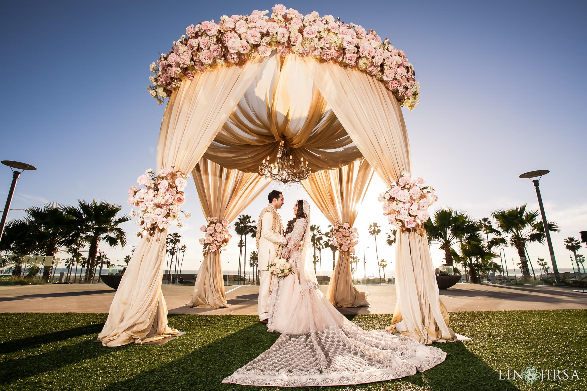 27 pasea hotel spa huntington beach pakistani muslim wedding photography