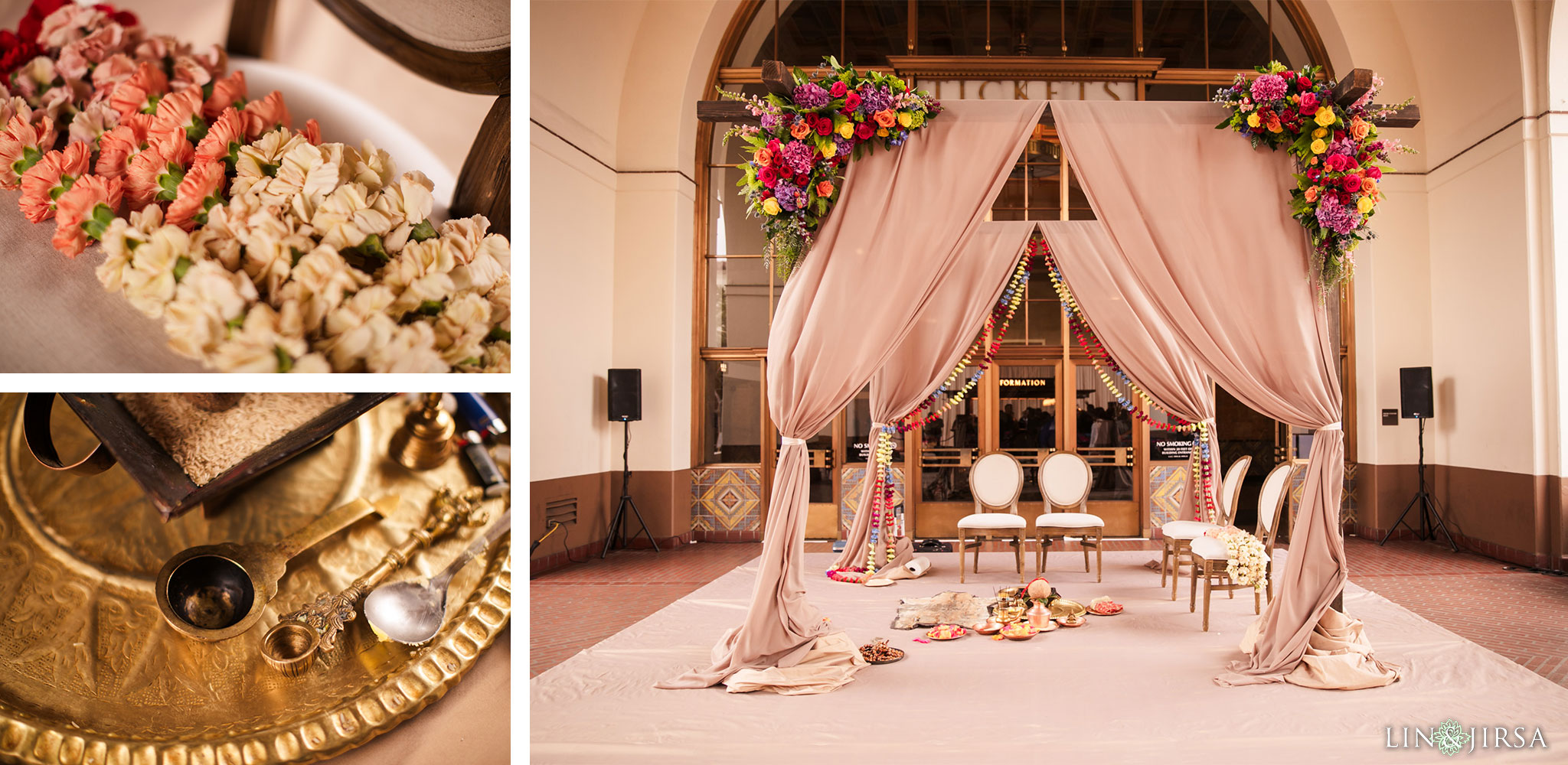28 Union Station Los Angeles Indian Wedding Photography