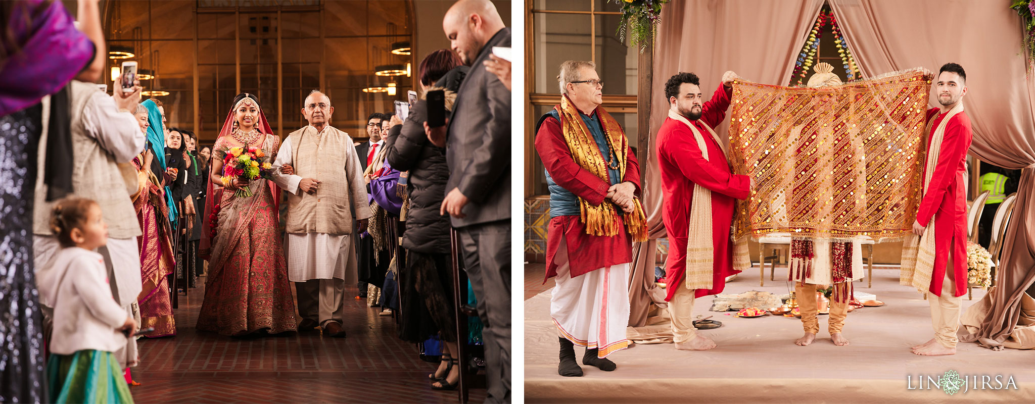 29 Union Station Los Angeles Indian Wedding Photography
