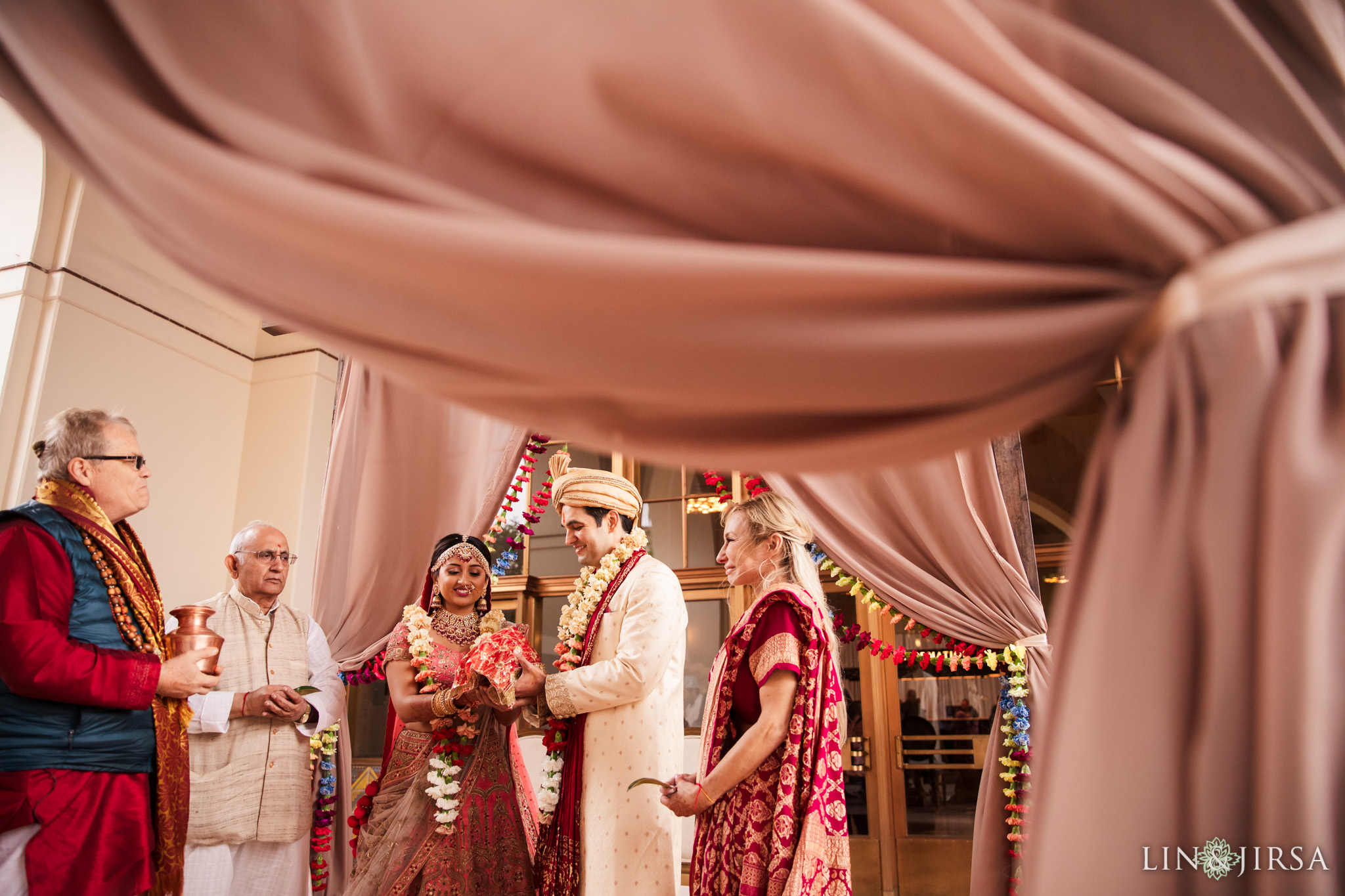 32 Union Station Los Angeles Indian Wedding Photography