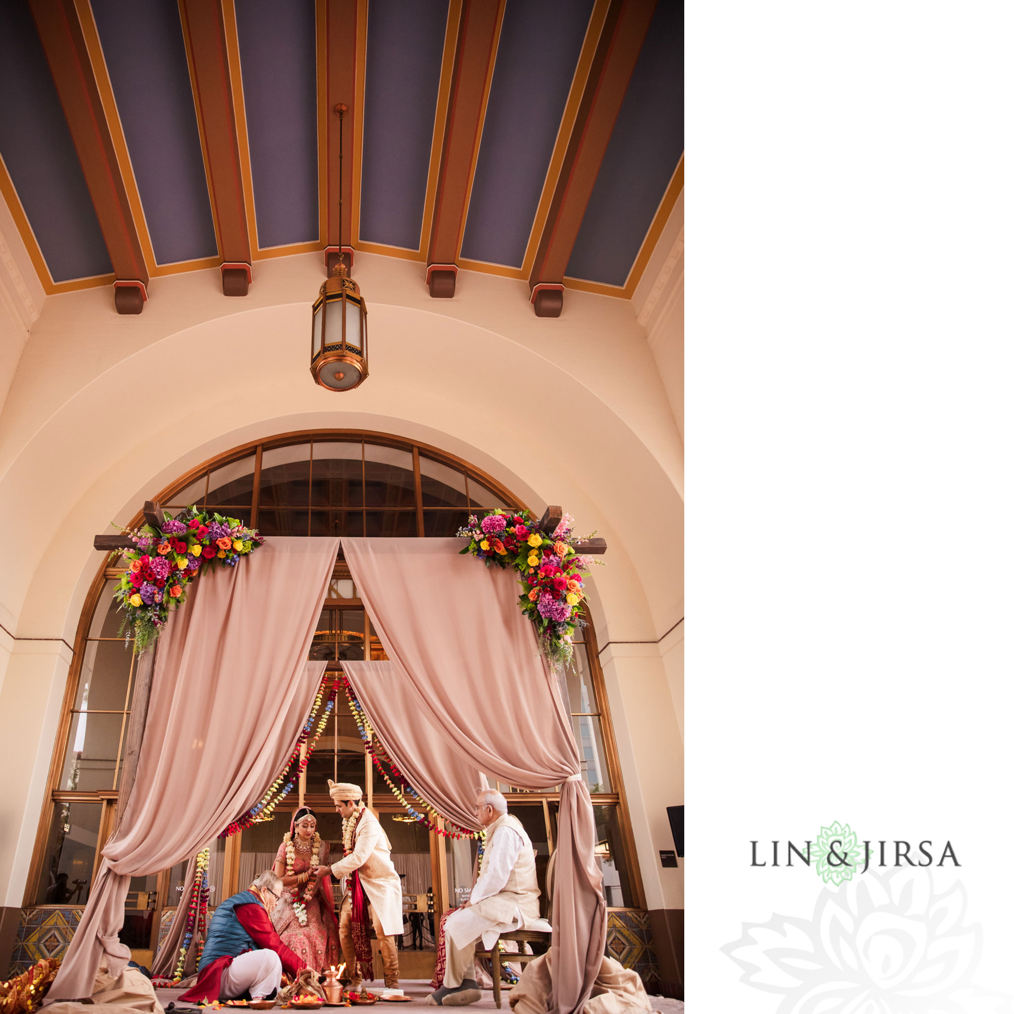 34 Union Station Los Angeles Indian Wedding Photography