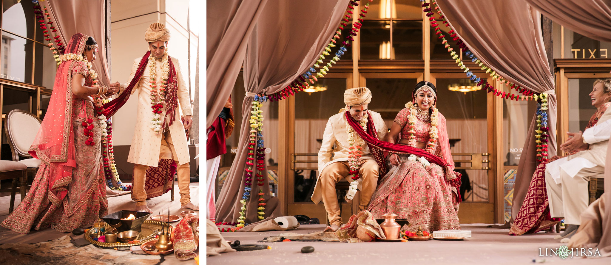35 Union Station Los Angeles Indian Wedding Photography