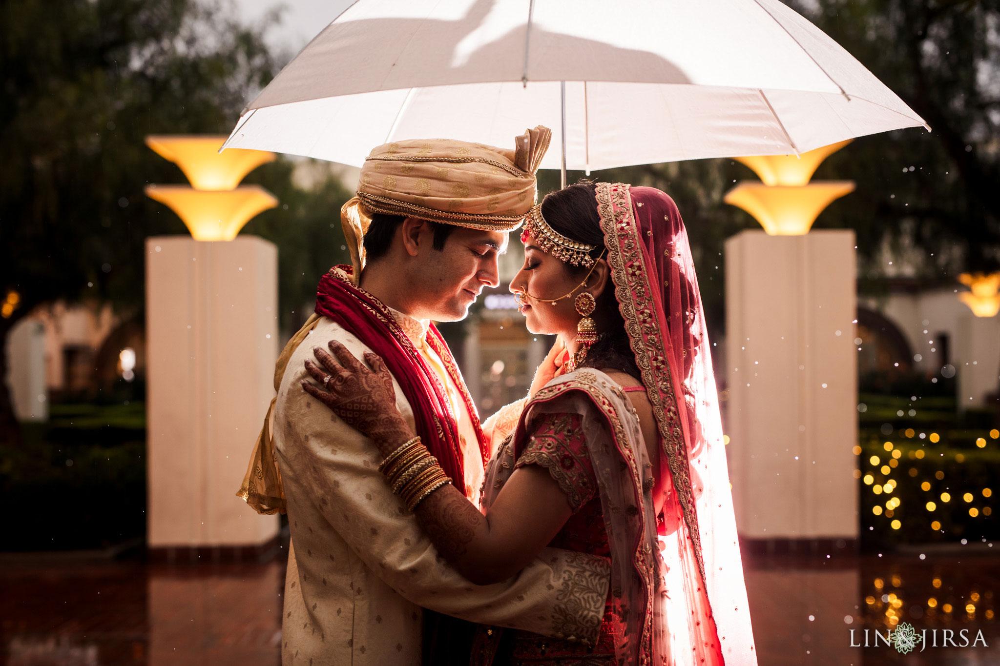 42 Union Station Los Angeles Rainy Indian Wedding Photography