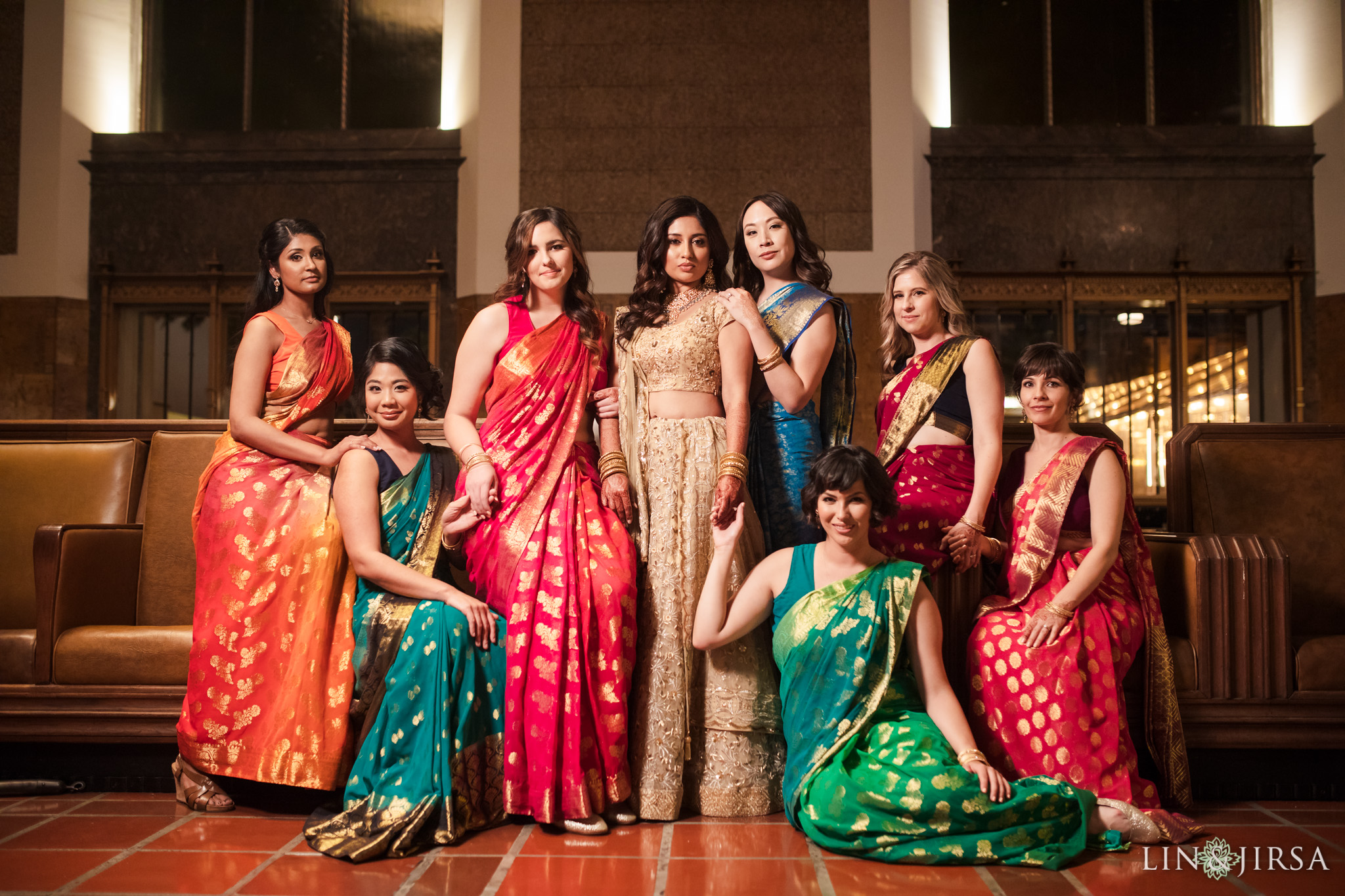 45 Union Station Los Angeles Indian Wedding Photography