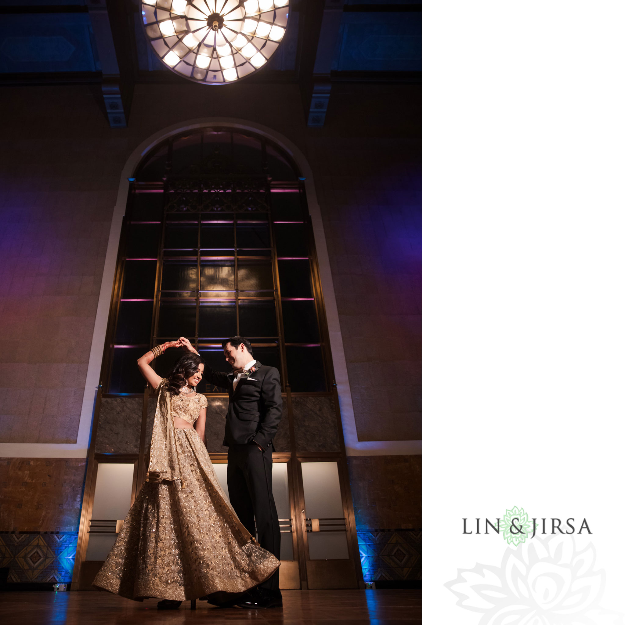 47 Union Station Los Angeles Indian Wedding Photography