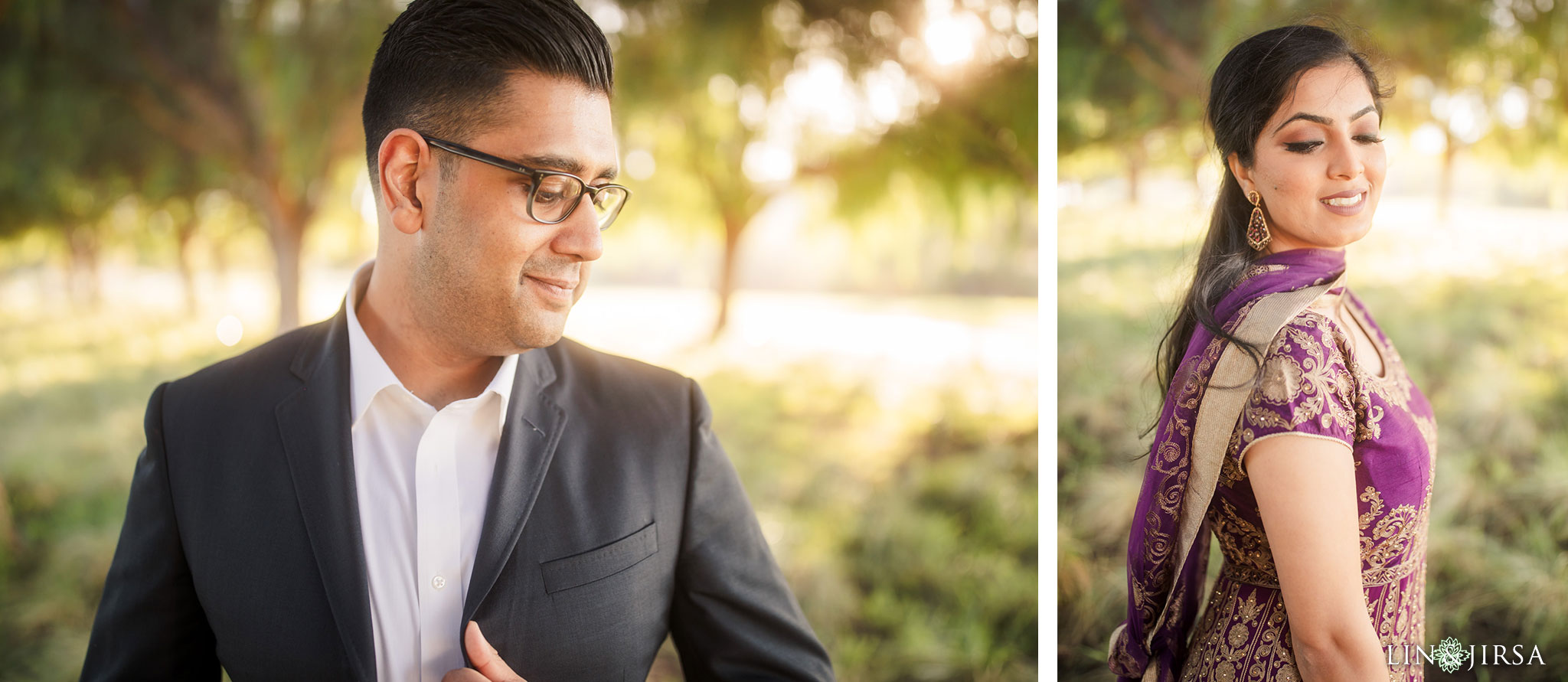 zbf Quail Hill Indian Couple Engagement Photography