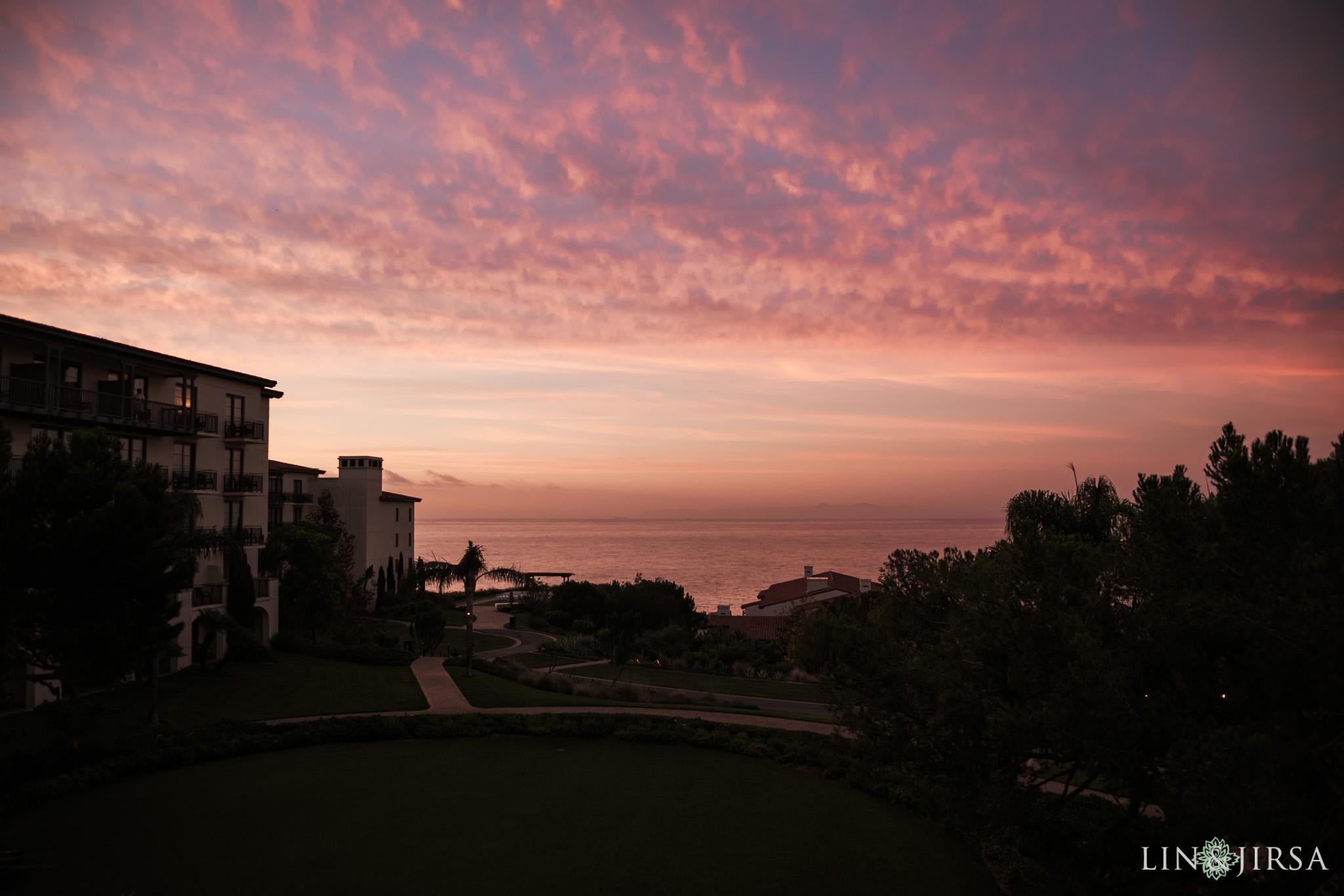 zbf sunrise terannea resort palos verdes wedding photography
