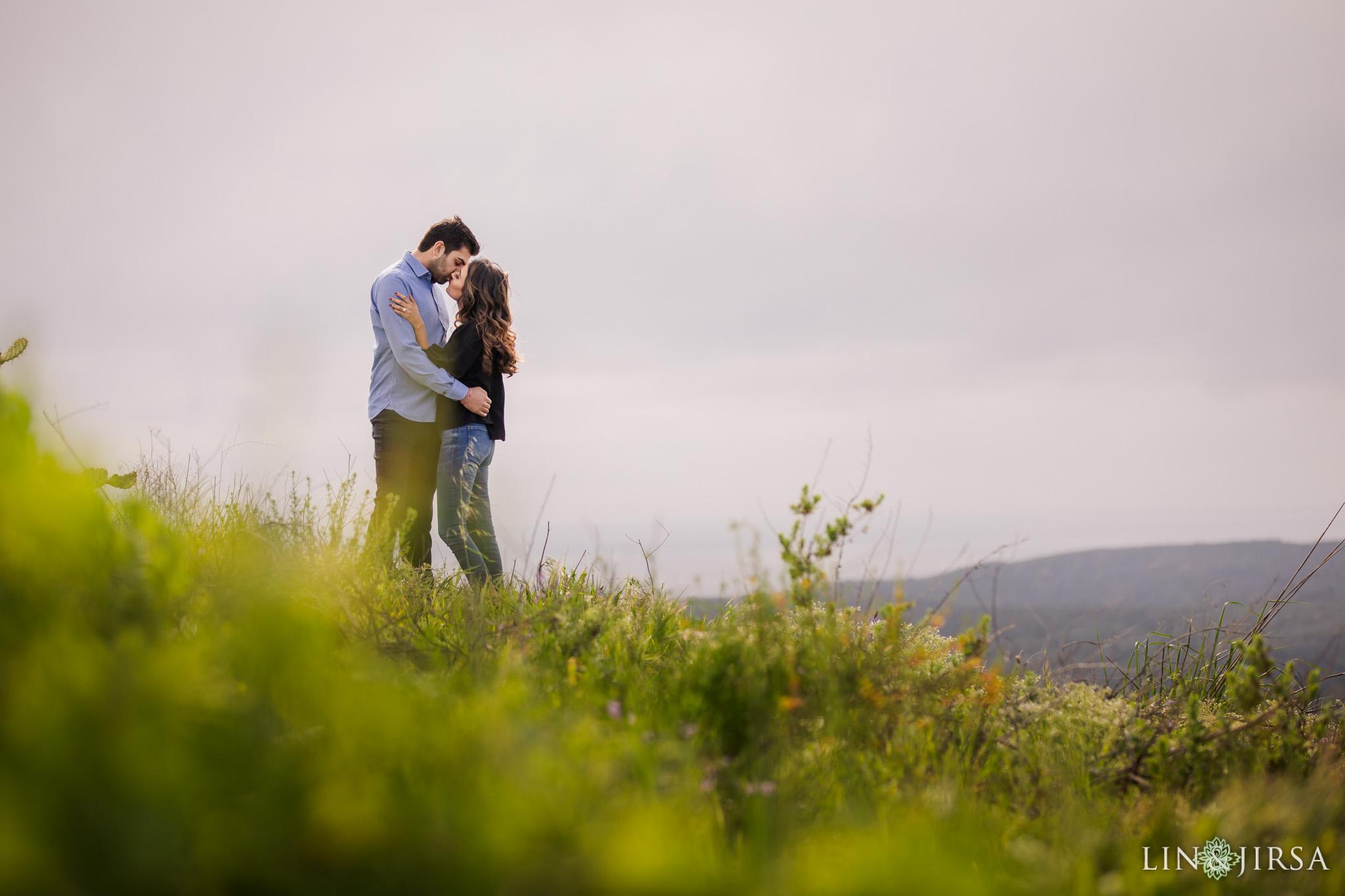 02 Top of the World Laguna Beach Engagement Photography
