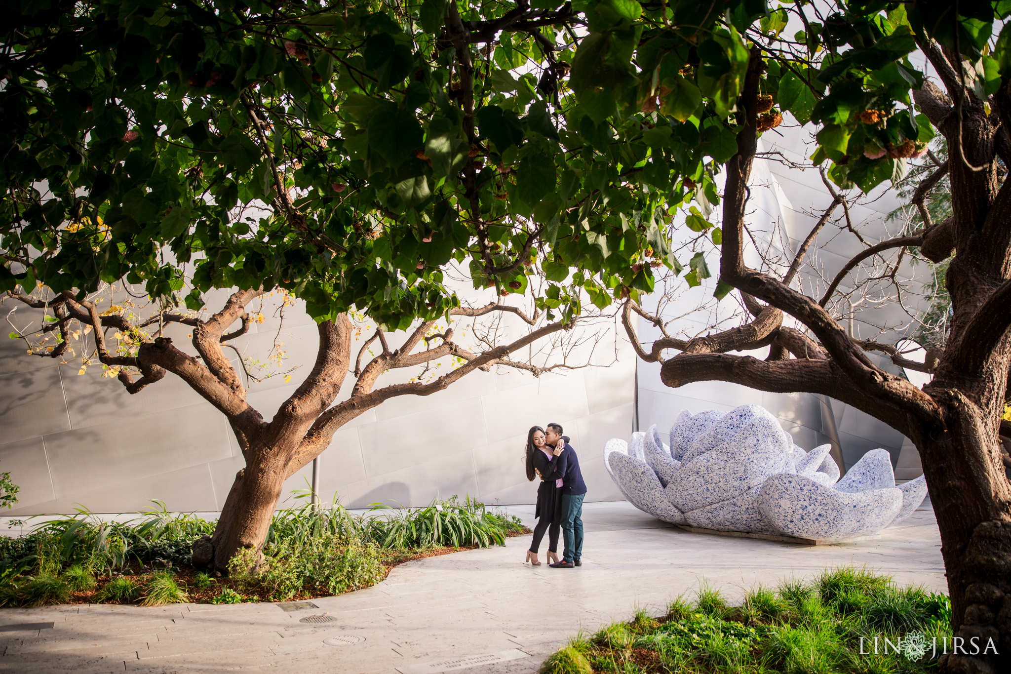 04 Walt Disney Concert Hall Los Angeles Engagement Photography