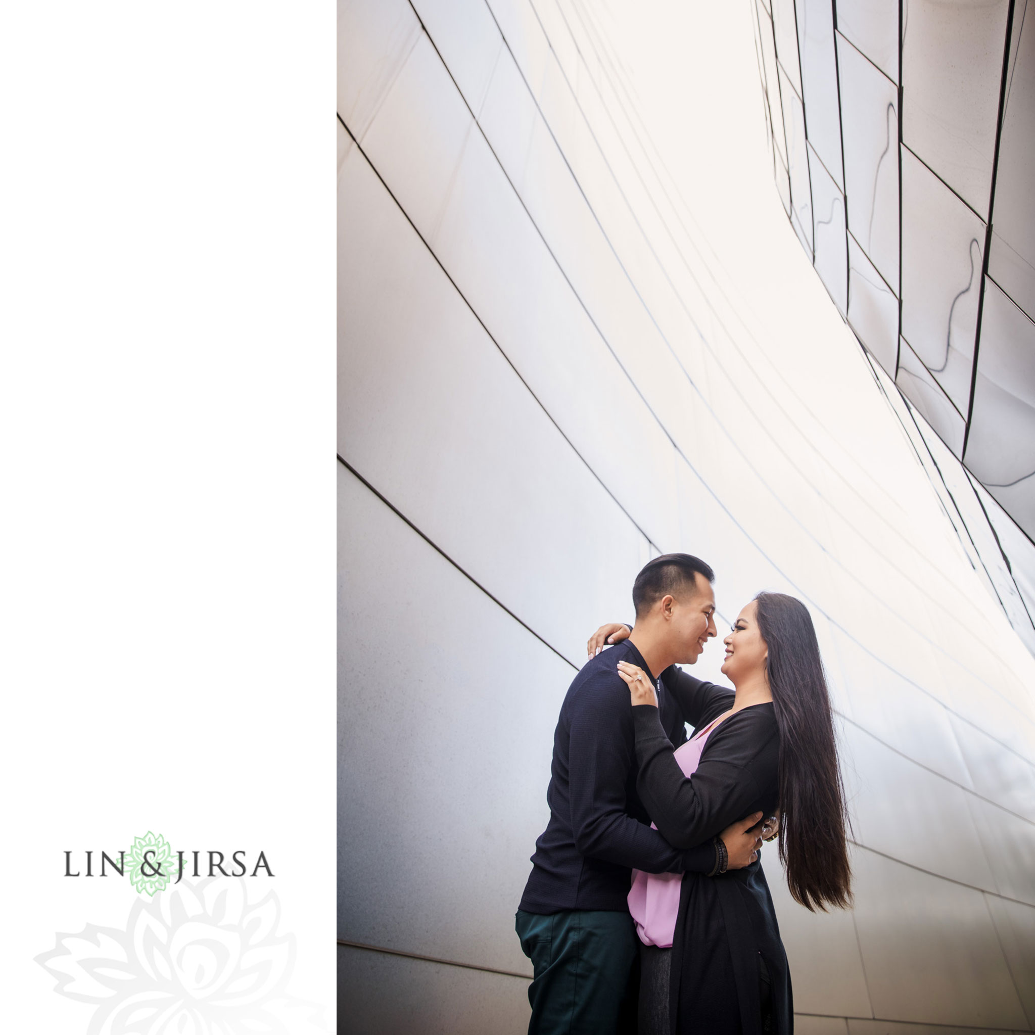 08 Walt Disney Concert Hall Los Angeles Engagement Photography