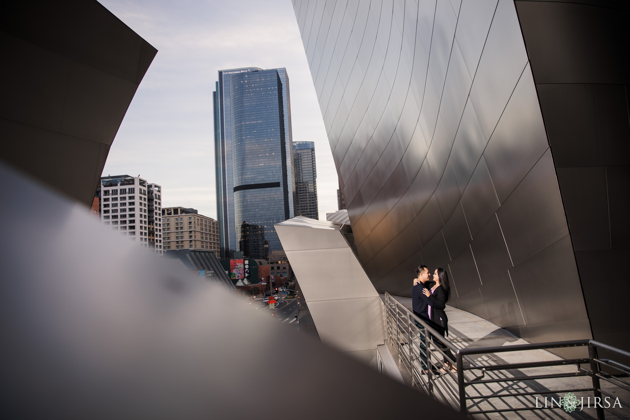 09 Walt Disney Concert Hall Los Angeles Engagement Photography