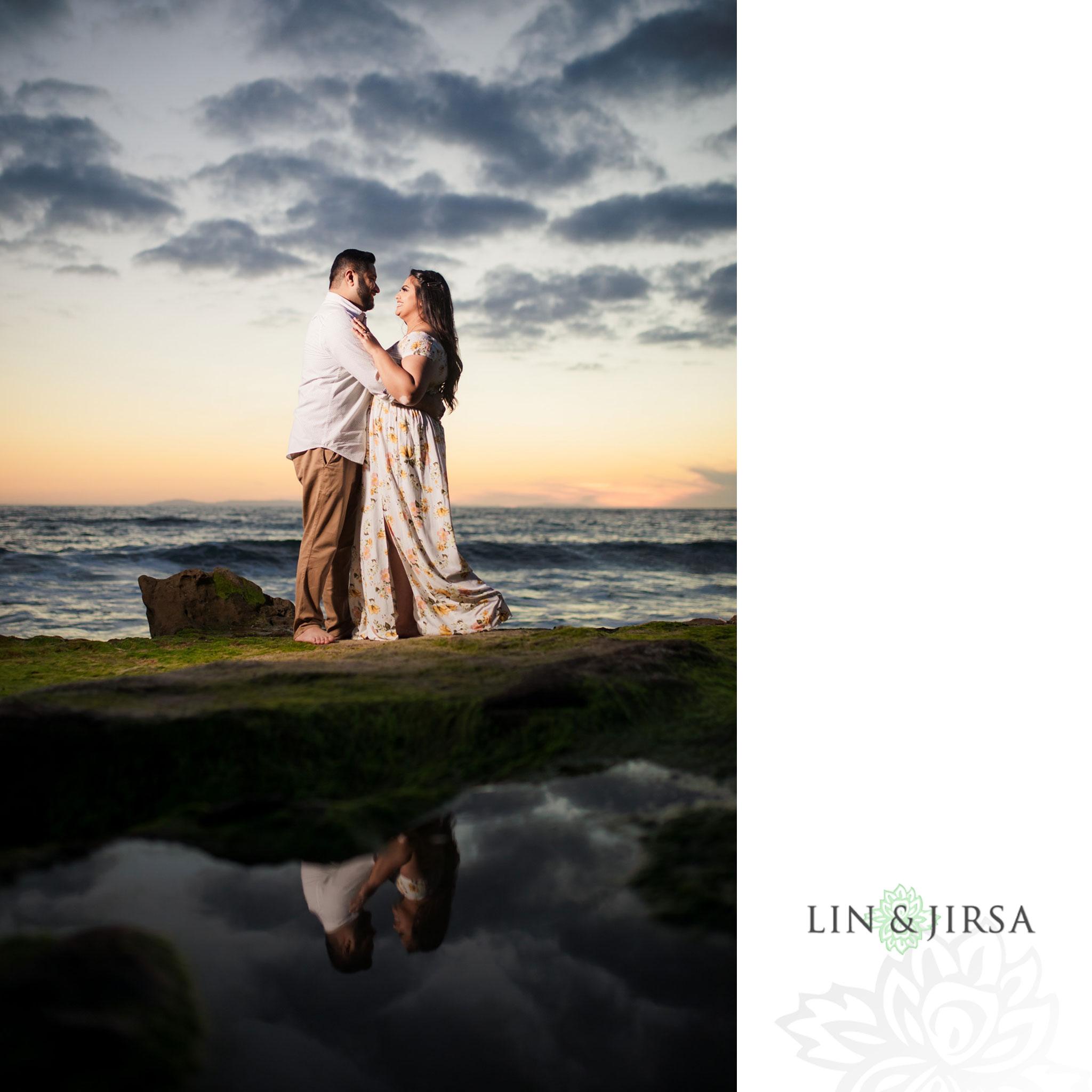 10 Heisler Park Laguna Beach Clouds Engagement Photography