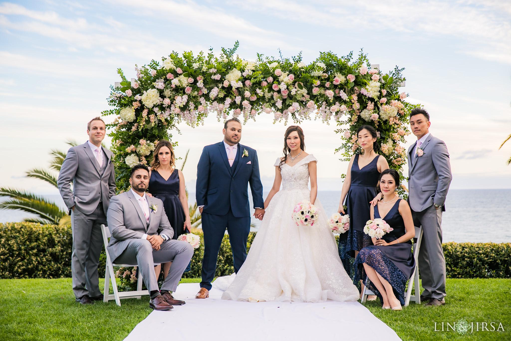 22 Bel Air Bay Club Los Angeles Wedding Party Photography
