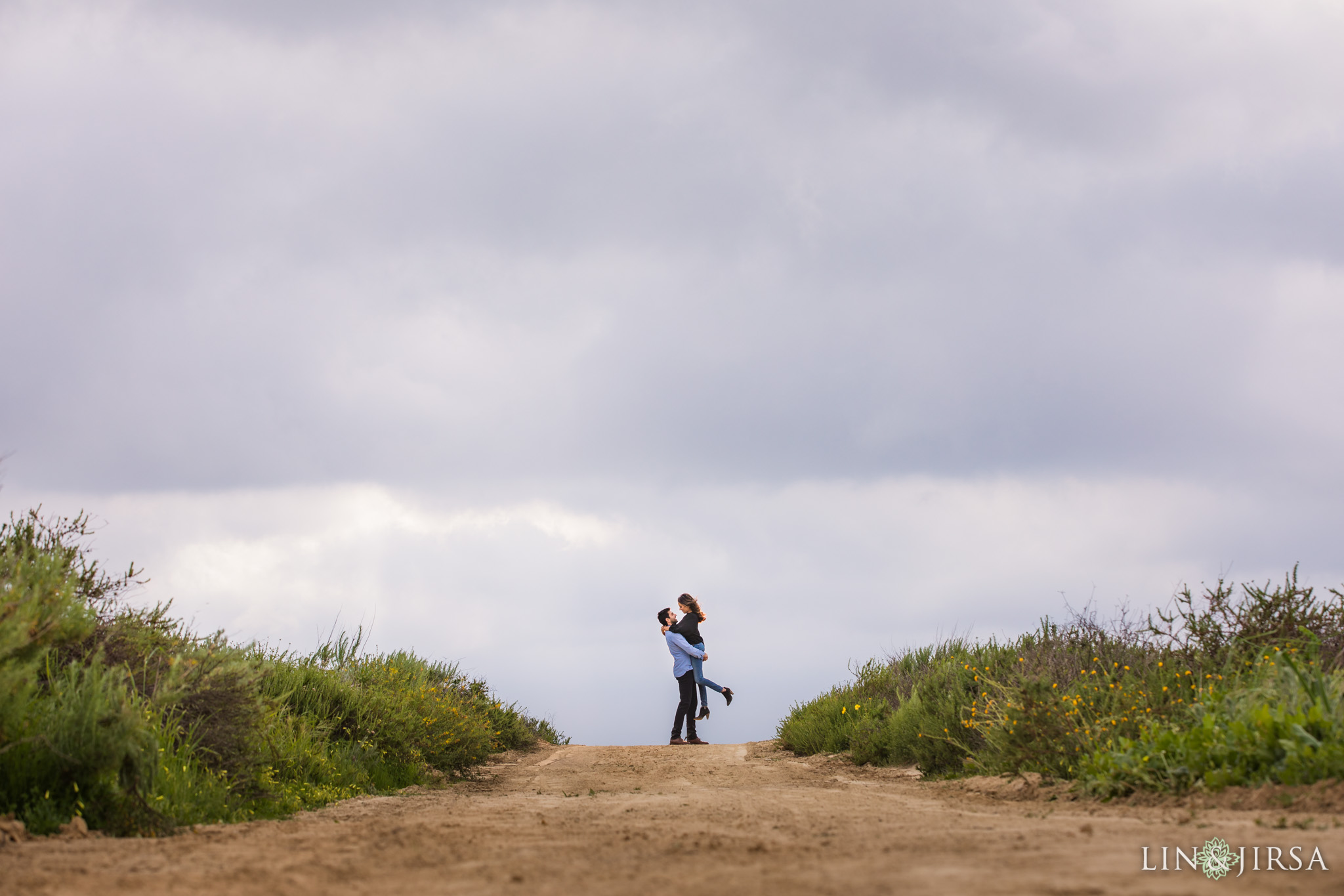 3 Top of the World Laguna Beach Engagement Photography
