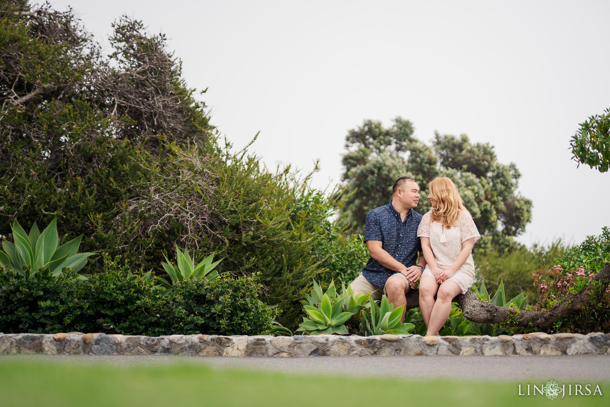 ZJG Laguna Beach Orange County Engagement Photography