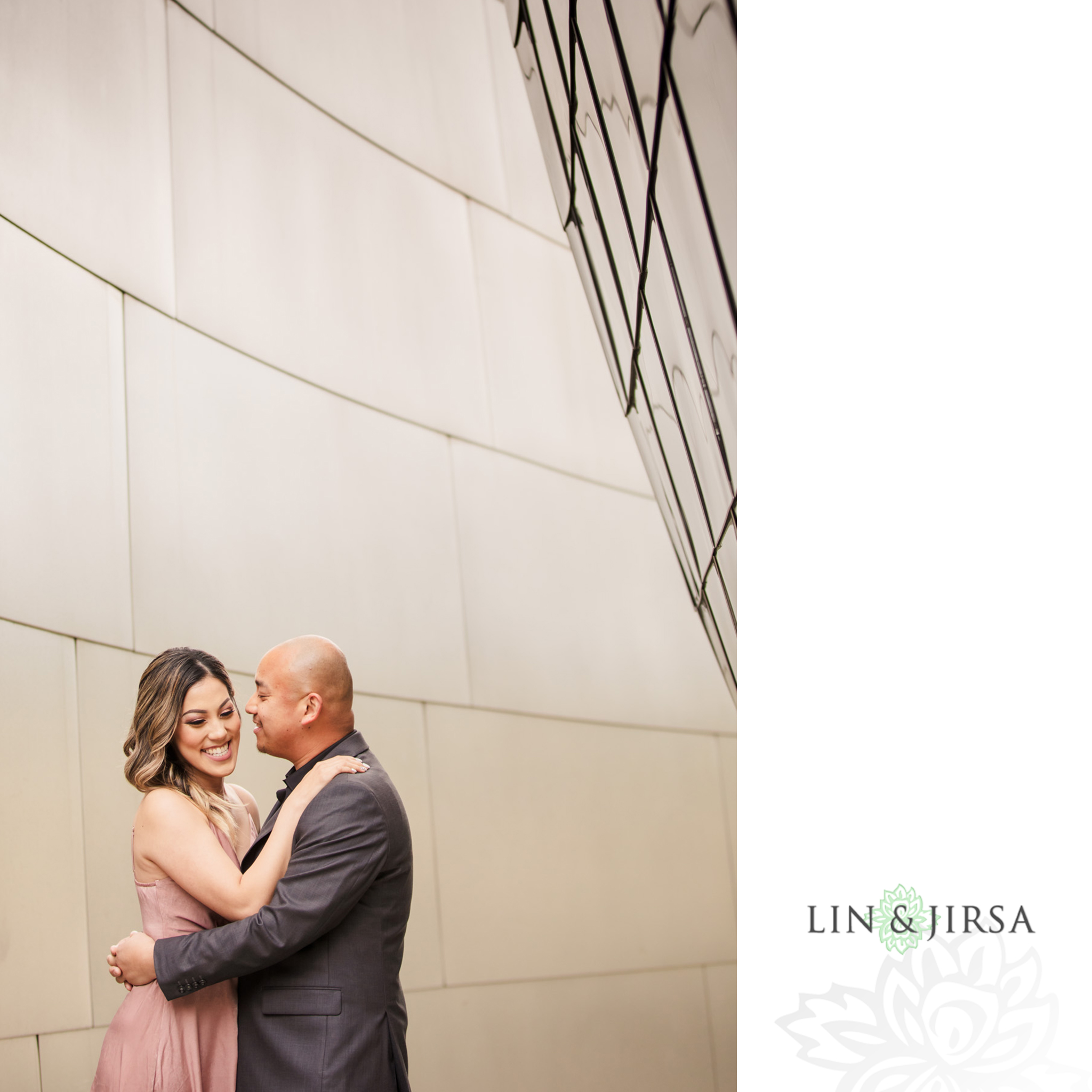 02 Downtown Los Angeles Engagement Photography
