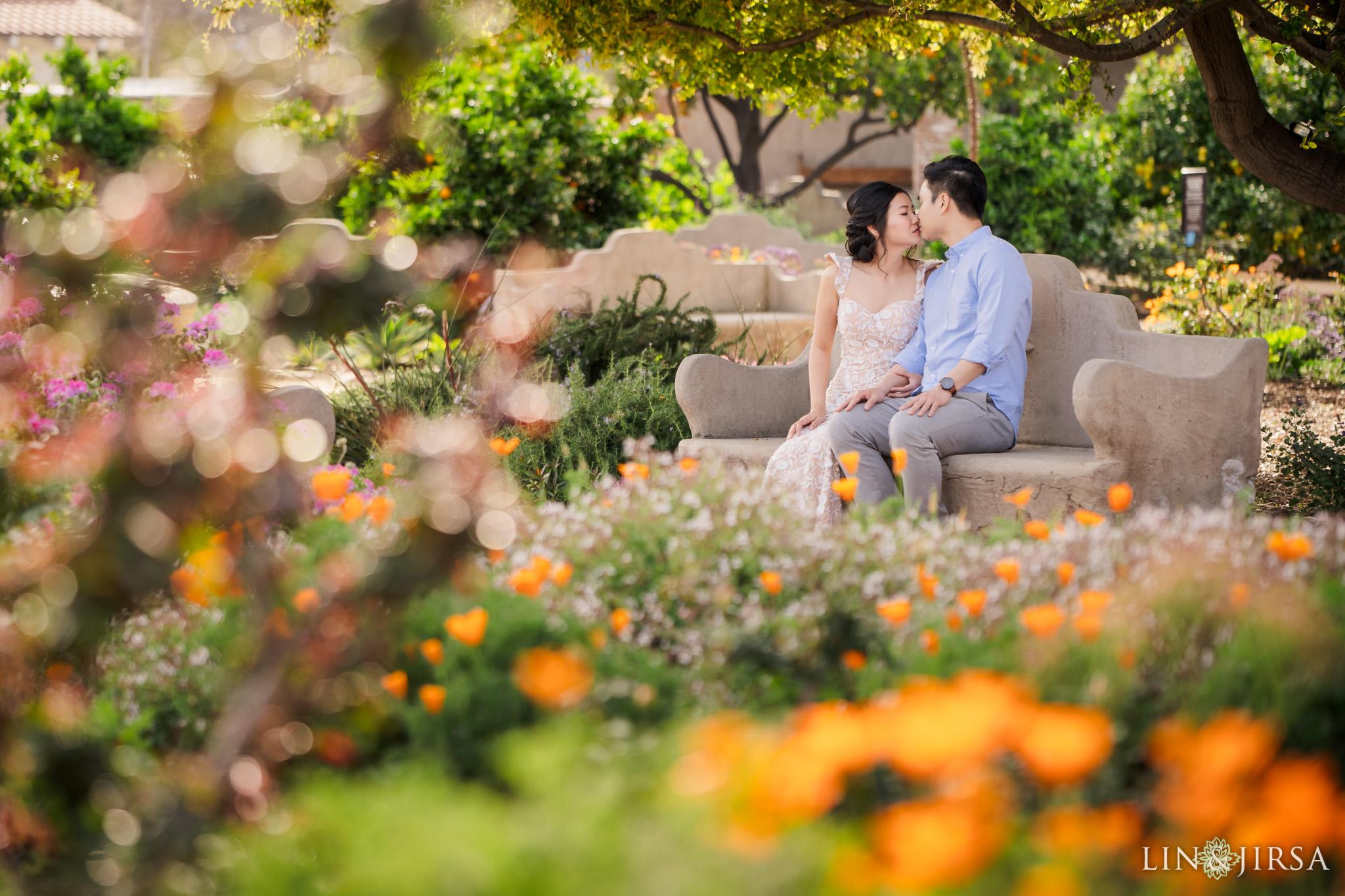 02 Mission San Juan Capistrano Engagement Photography 1