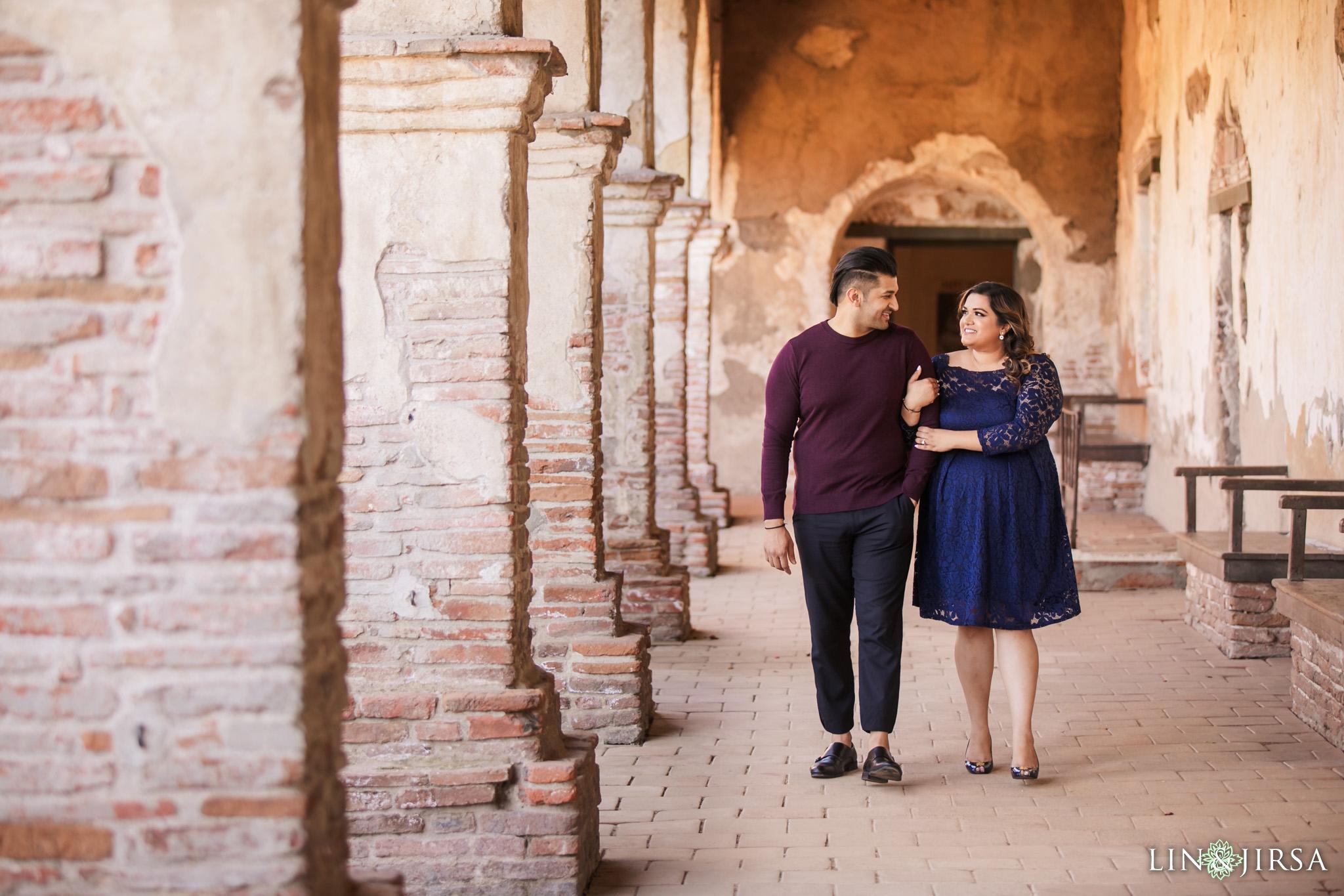02 Mission San Juan Capistrano Engagement Photography 2