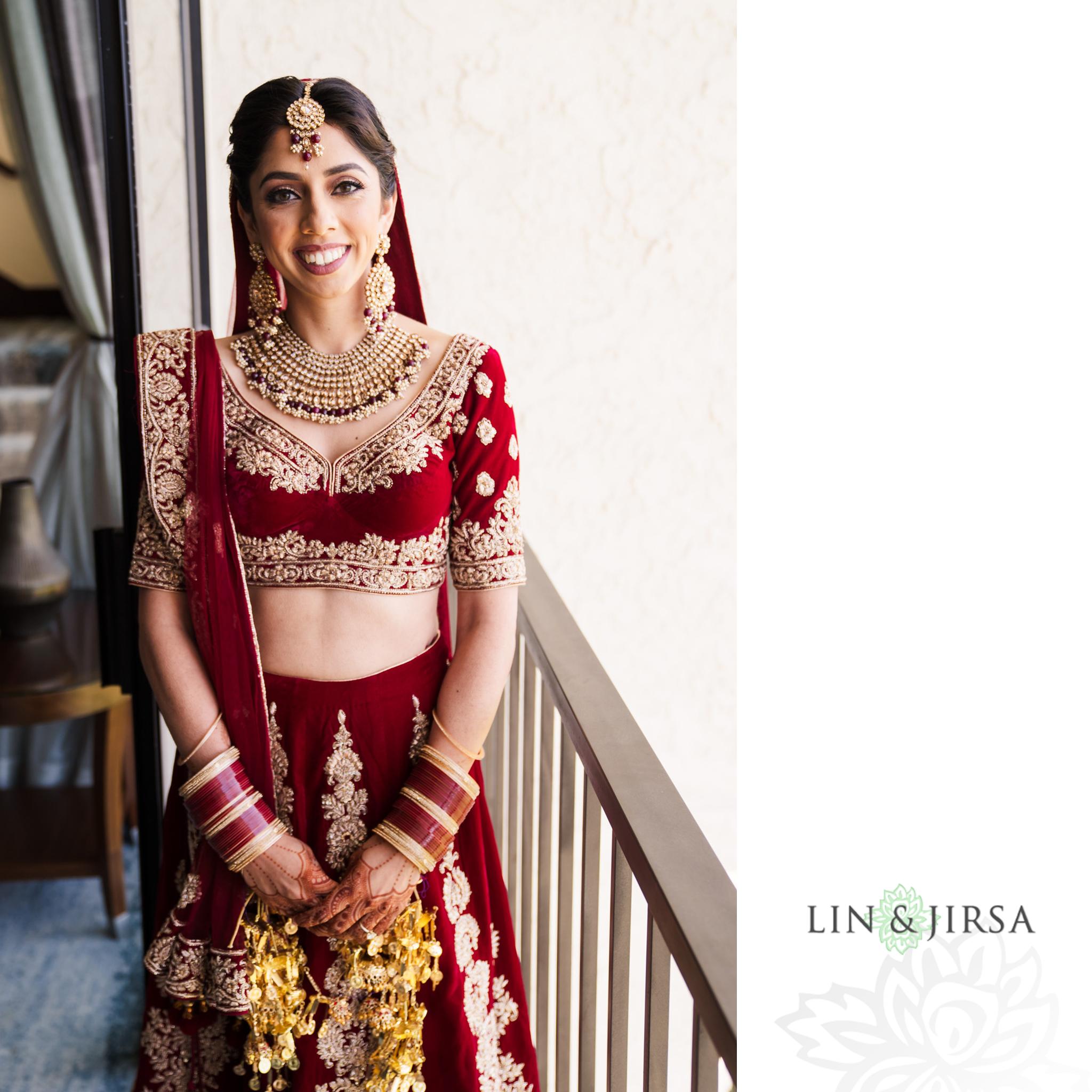 02 Newport Beach Marriott Indian Wedding Photography