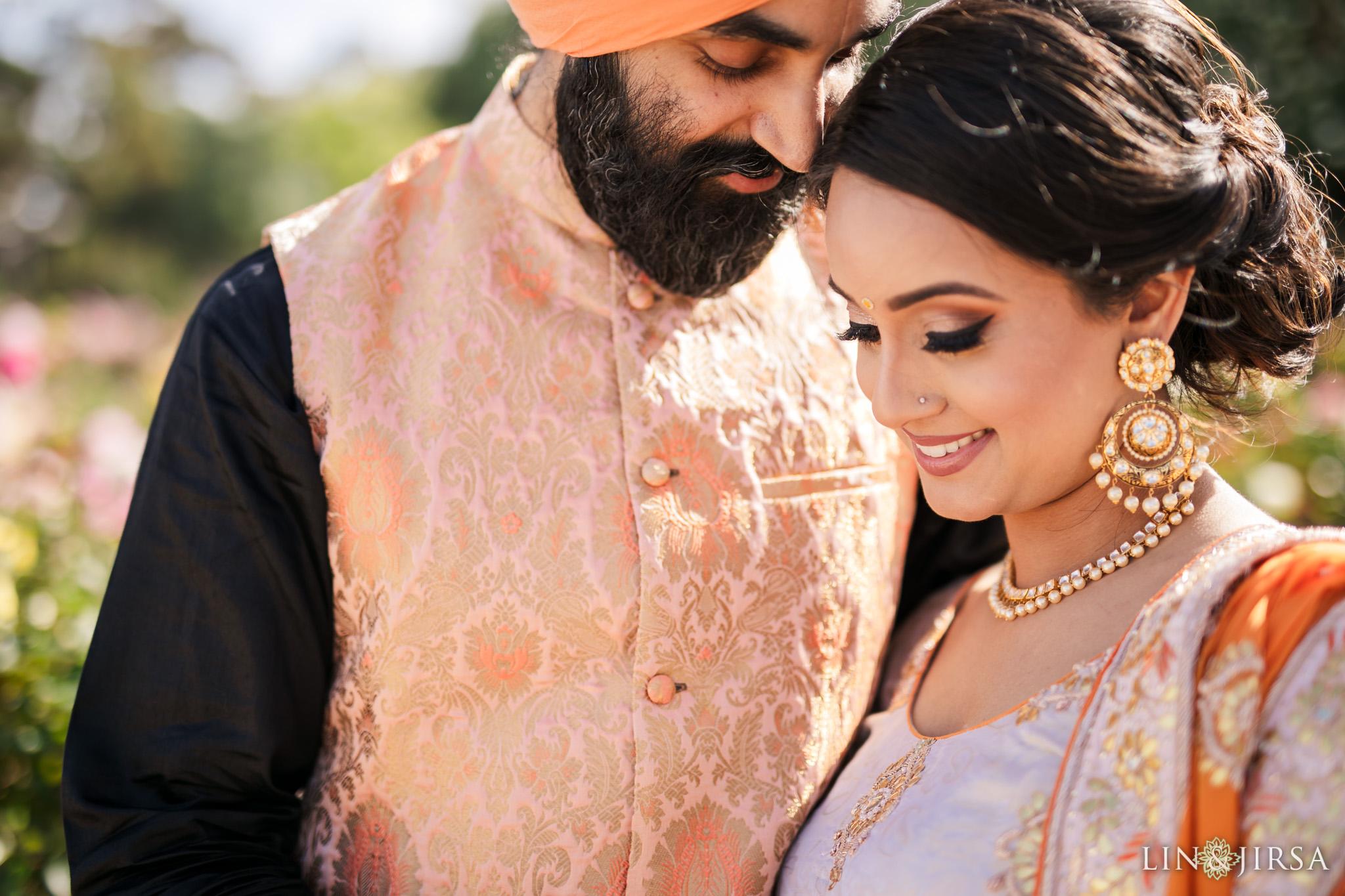 03 Balboa Park San Diego Punjabi Indian Engagement Photography