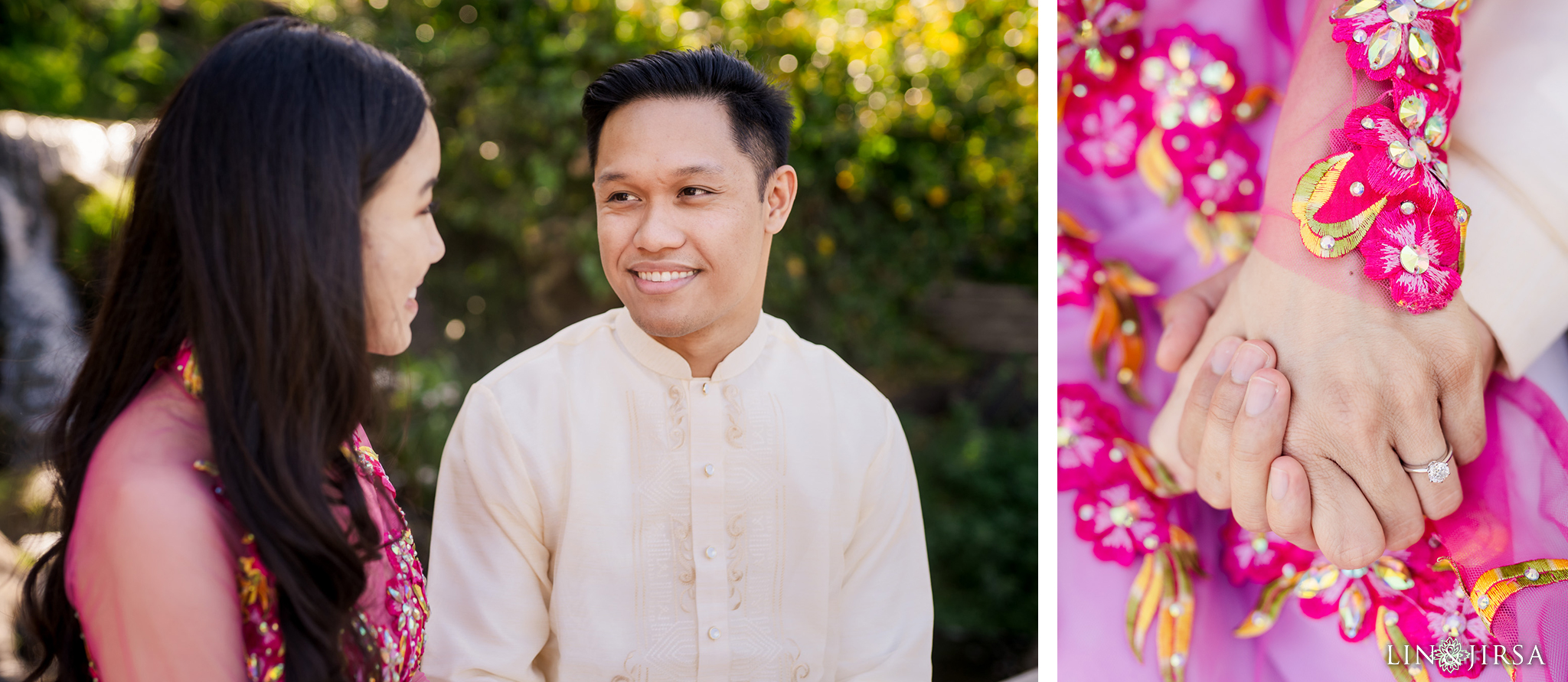 03 Los Angeles Arboretum Spring Engagement Photography