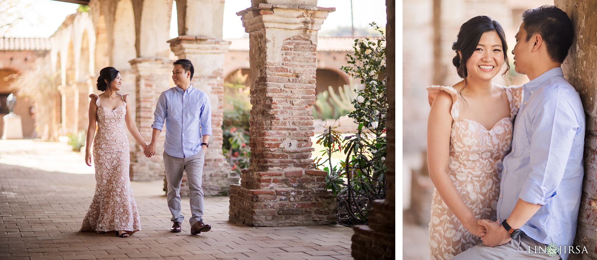 03 Mission San Juan Capistrano Engagement Photography 1