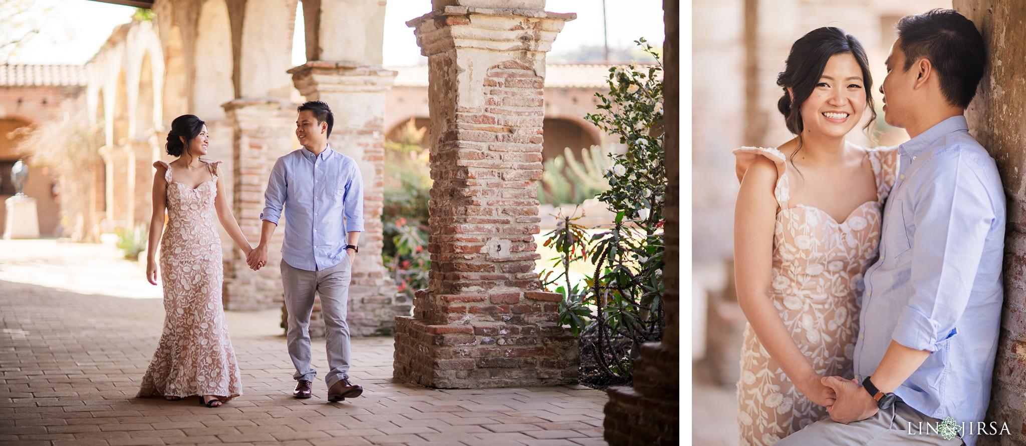 03 Mission San Juan Capistrano Engagement Photography 1