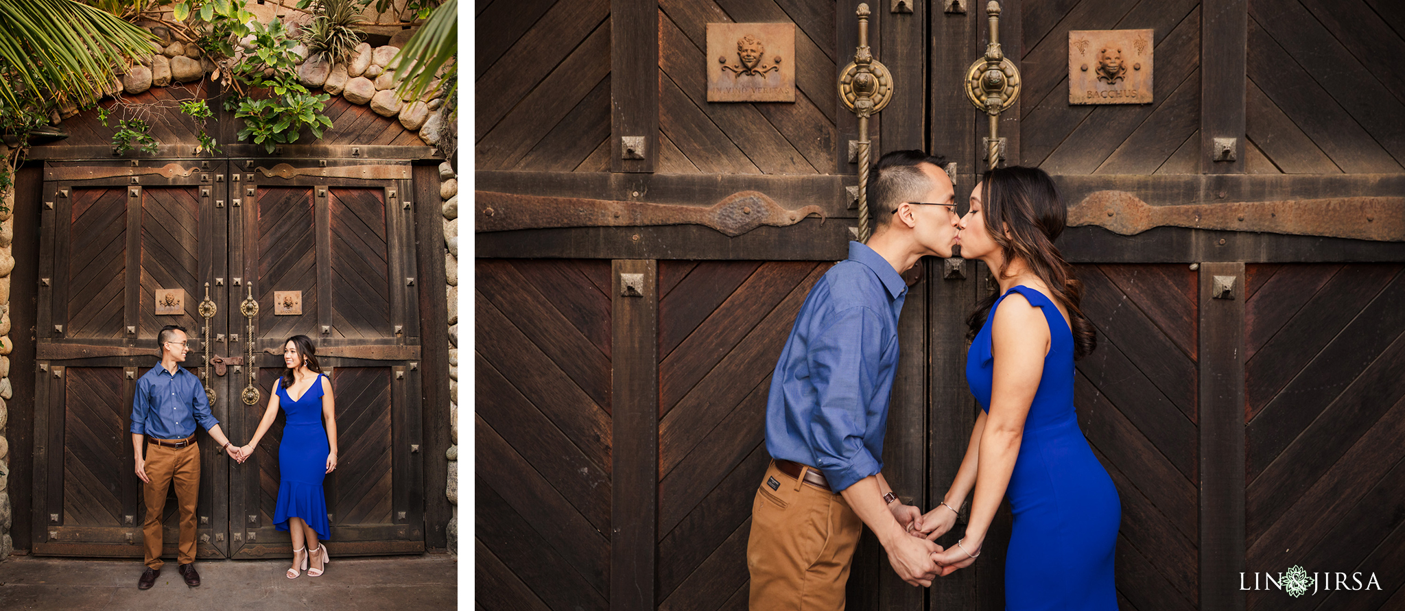 03 Newport Beach Vineyards and Winery Engagement Photography
