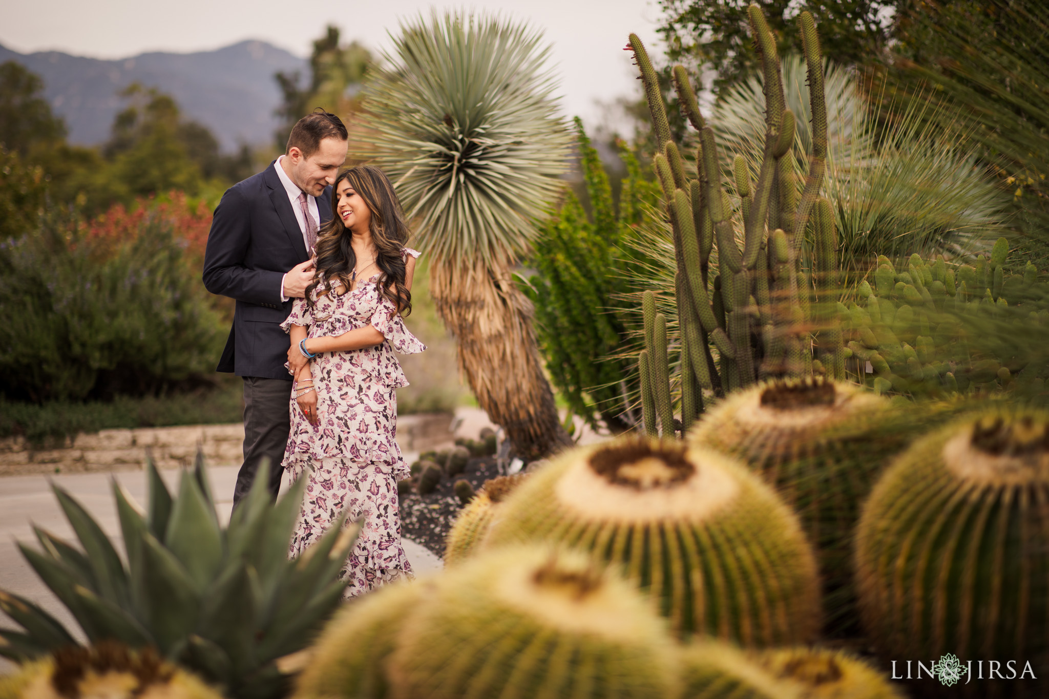 04 Los Angeles Arboretum Engagement Photography