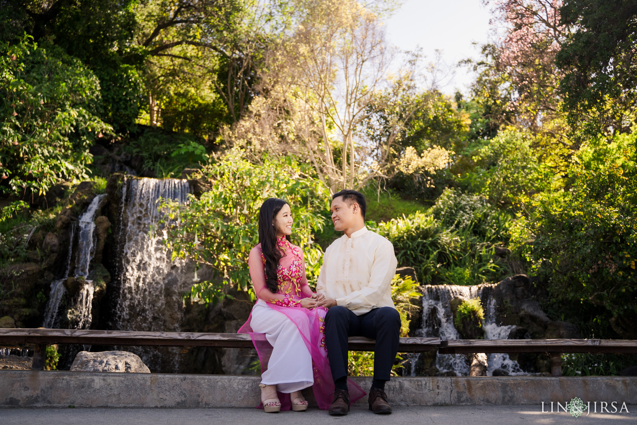 04 Los Angeles Arboretum Spring Engagement Photography