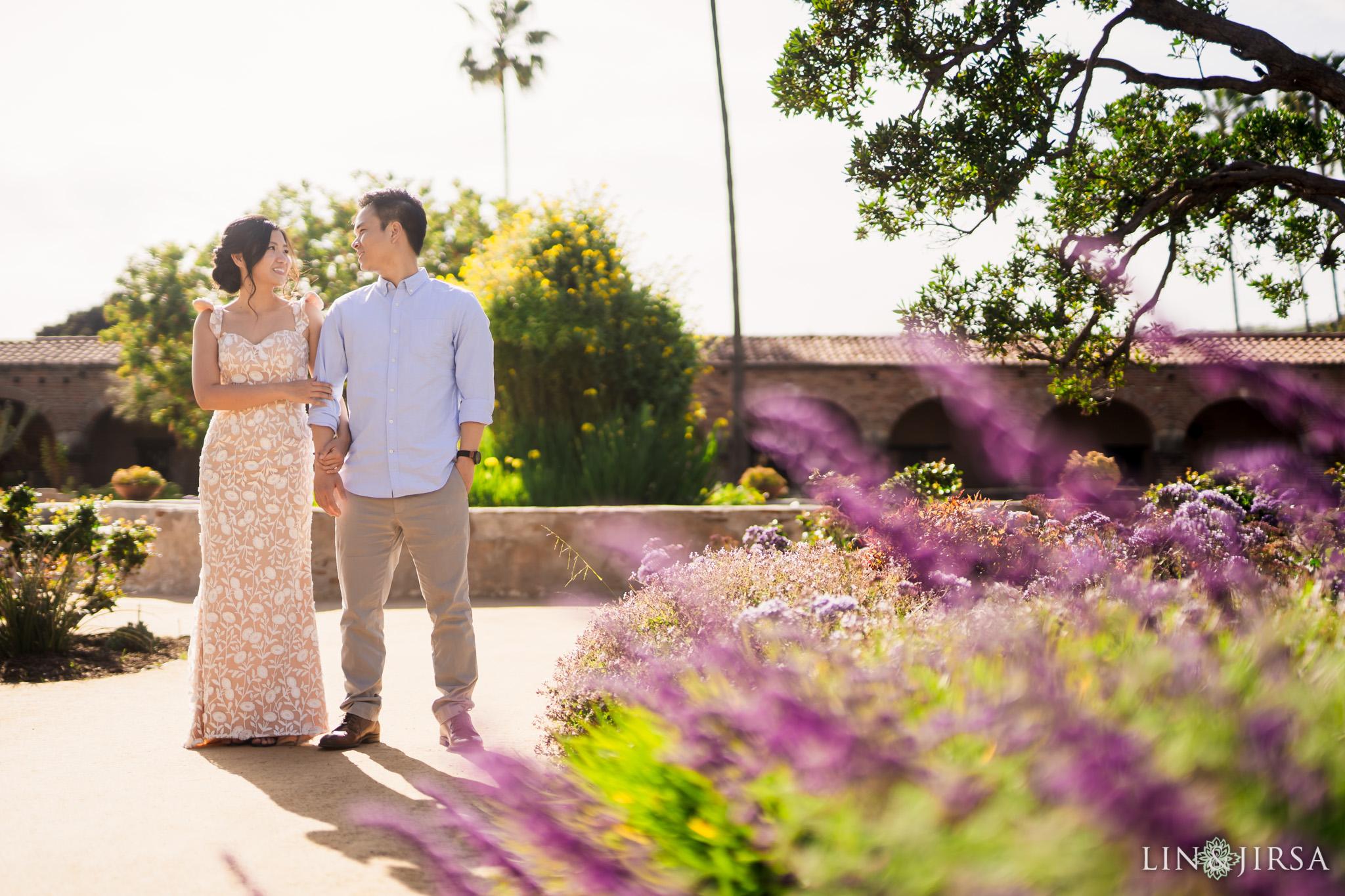 04 Mission San Juan Capistrano Engagement Photography 1