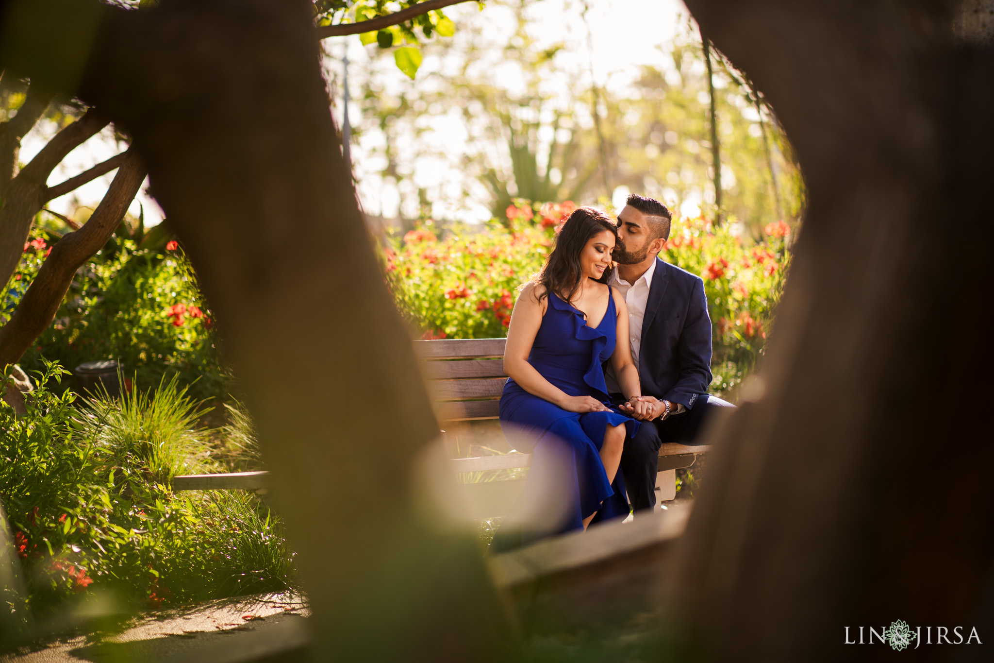 04 Tongva Park Santa Monica Pier Engagement Photography