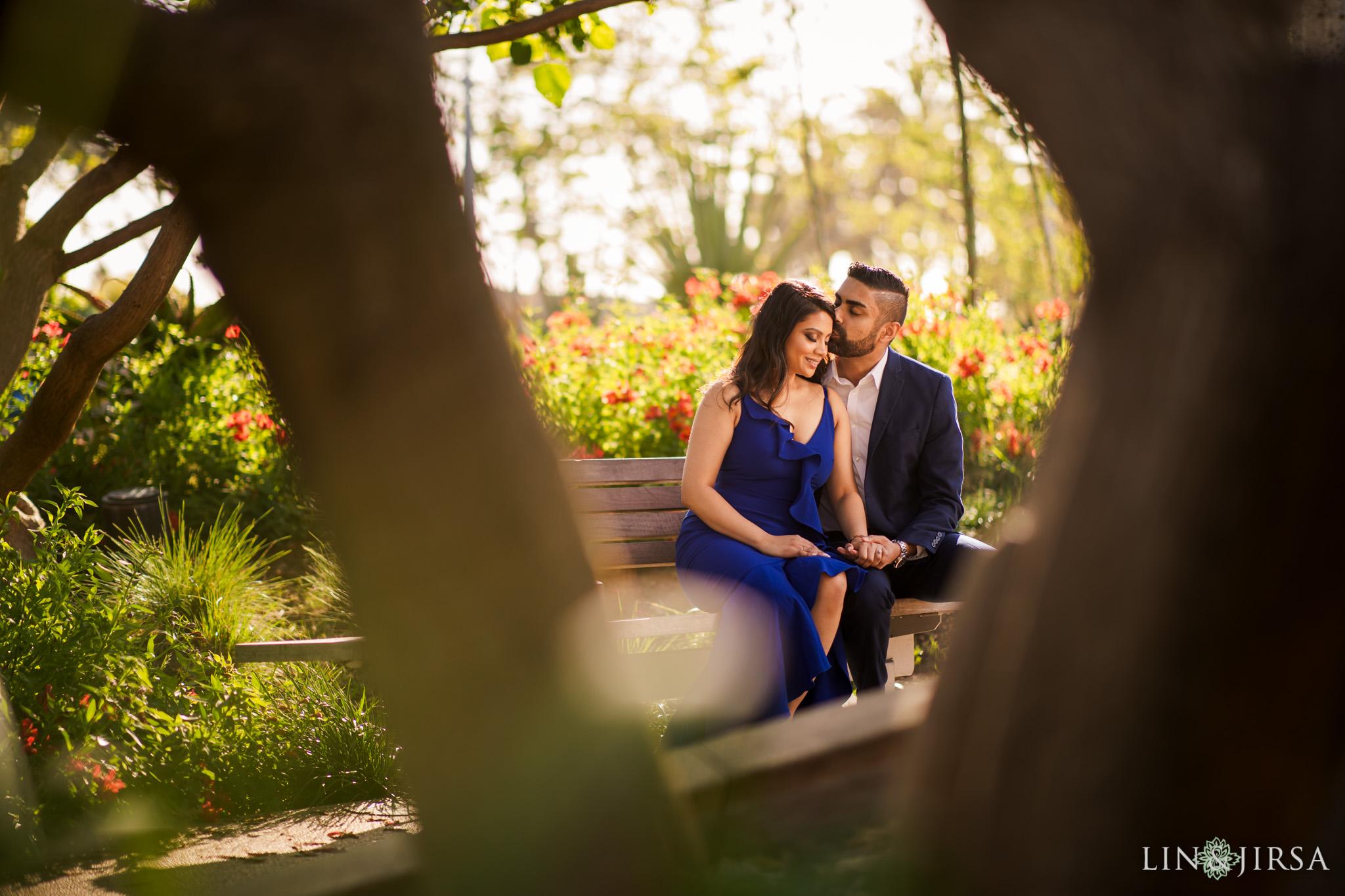 04 Tongva Park Santa Monica Pier Engagement Photography