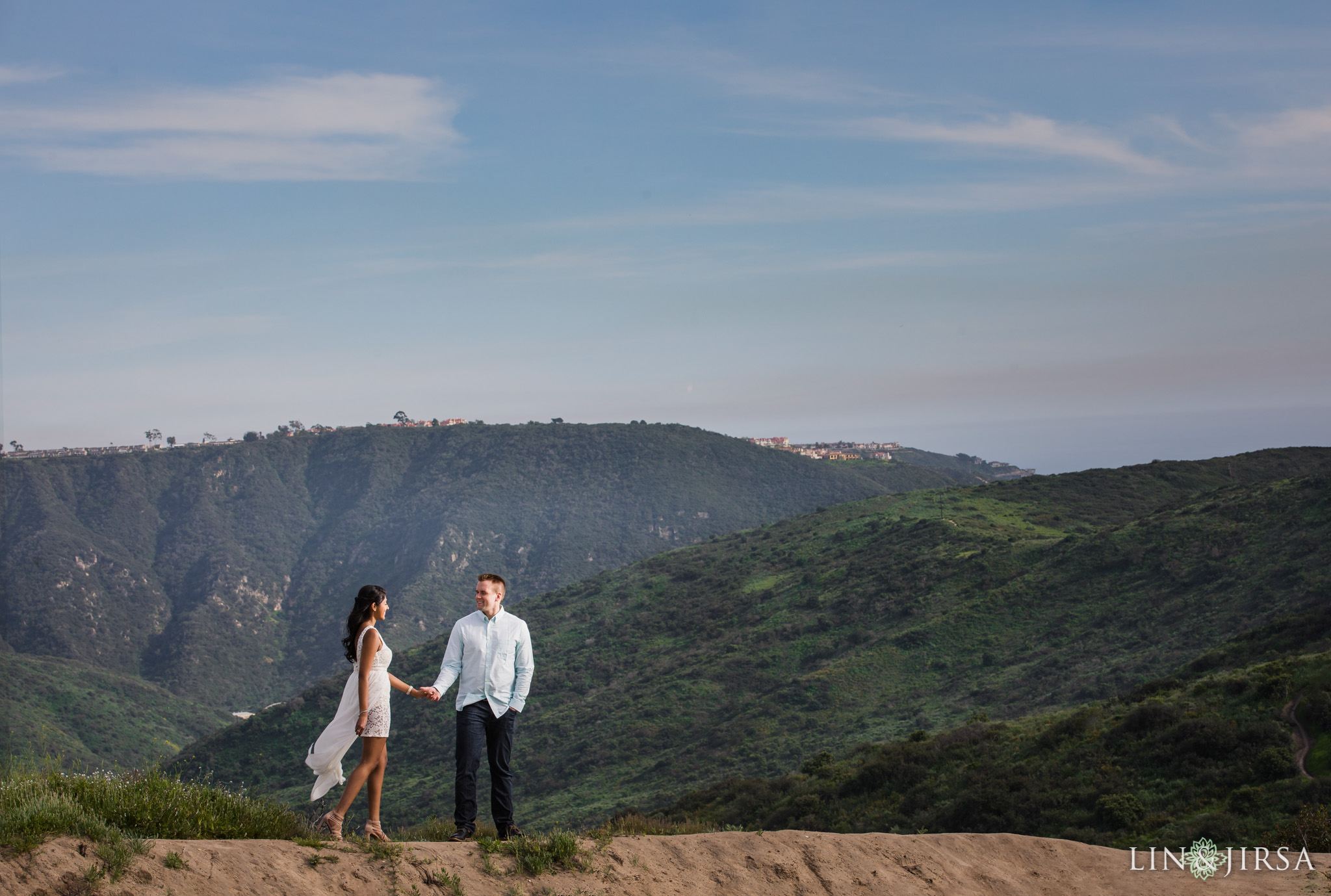 04 Top of the World Laguna Beach Engagement Photography