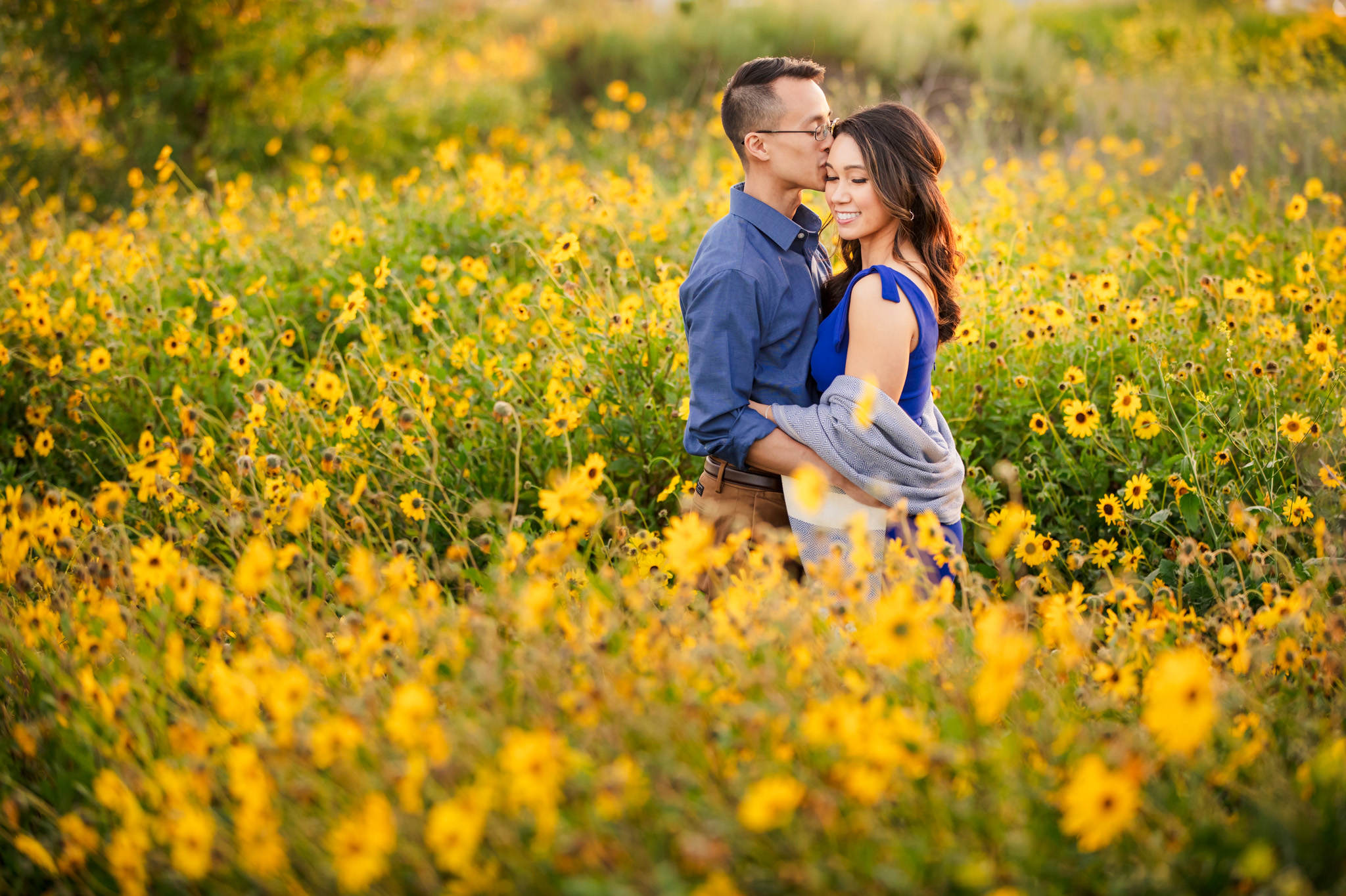 04 Upper Newport Bay Nature Preserve Engagement Photography