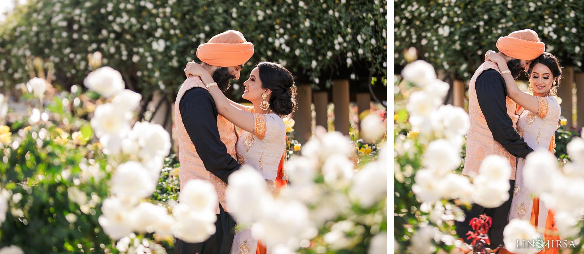 05 Balboa Park San Diego Punjabi Indian Engagement Photography