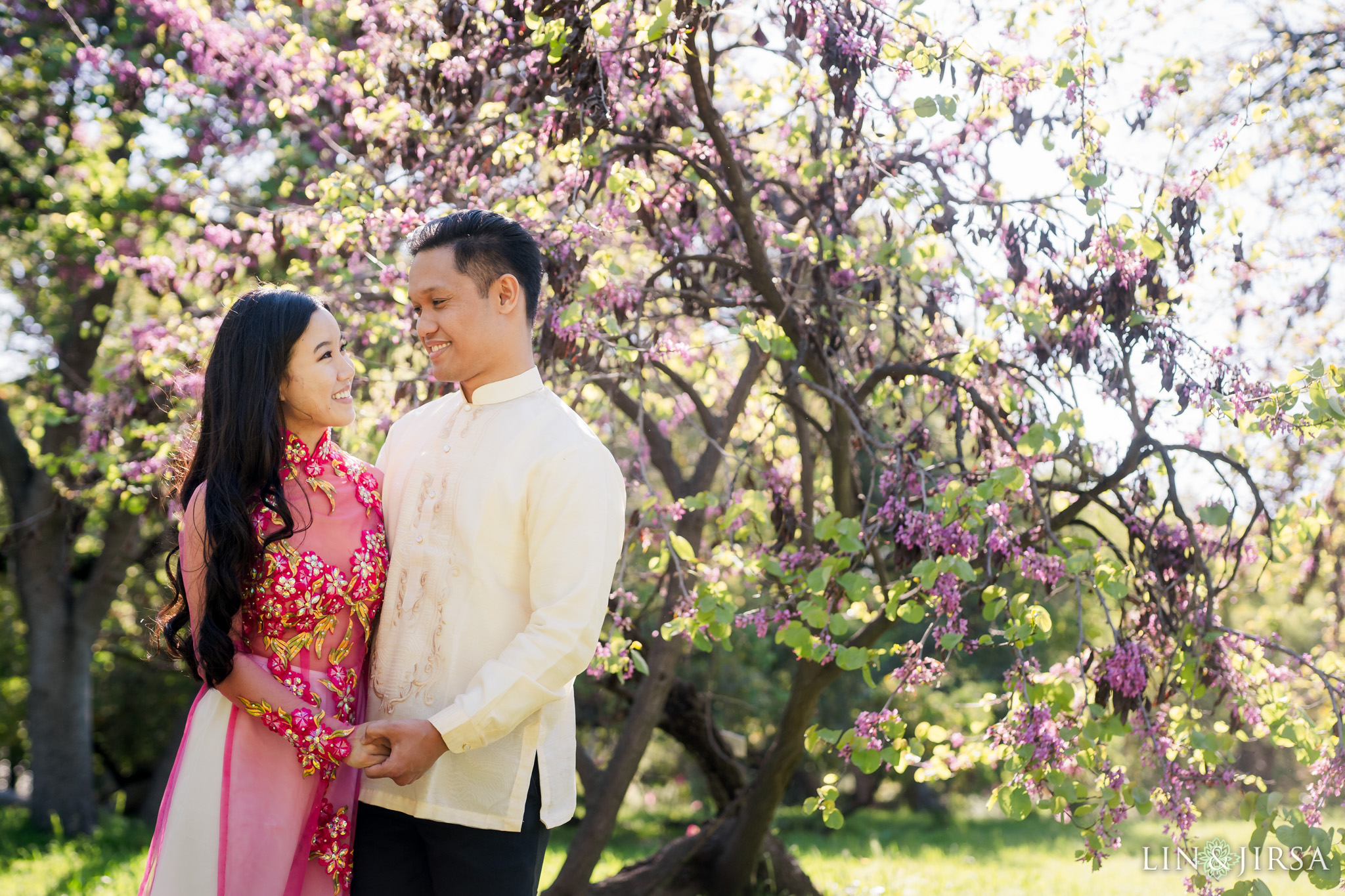 05 Los Angeles Arboretum Spring Engagement Photography