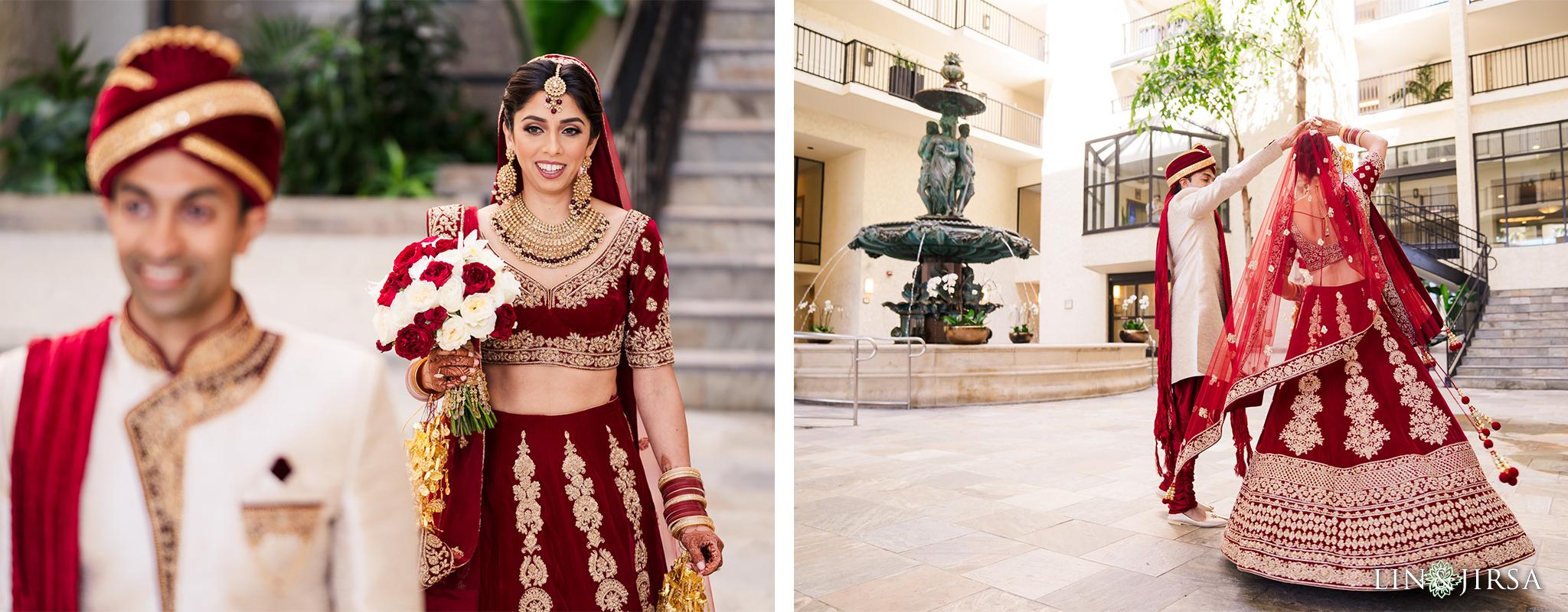 05 Newport Beach Marriott Indian Wedding Photography