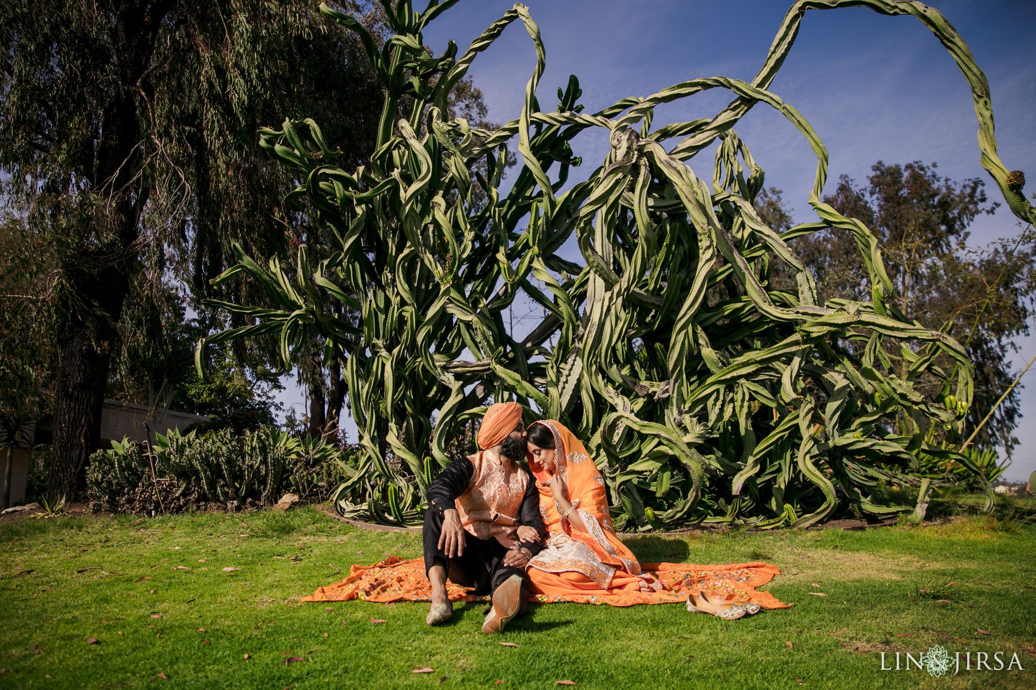 06 Balboa Park San Diego Punjabi Indian Engagement Photography