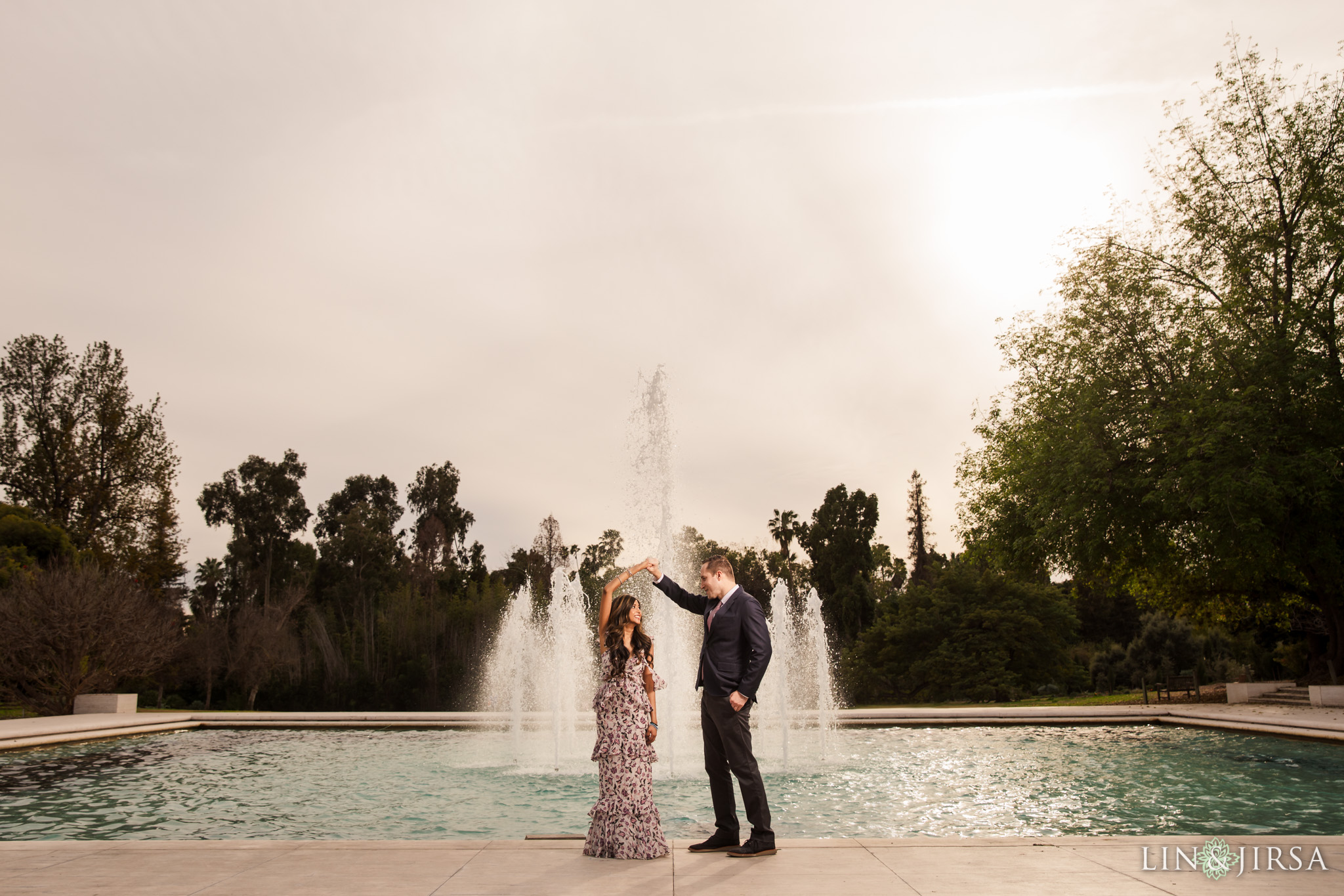 06 Los Angeles Arboretum Engagement Photography